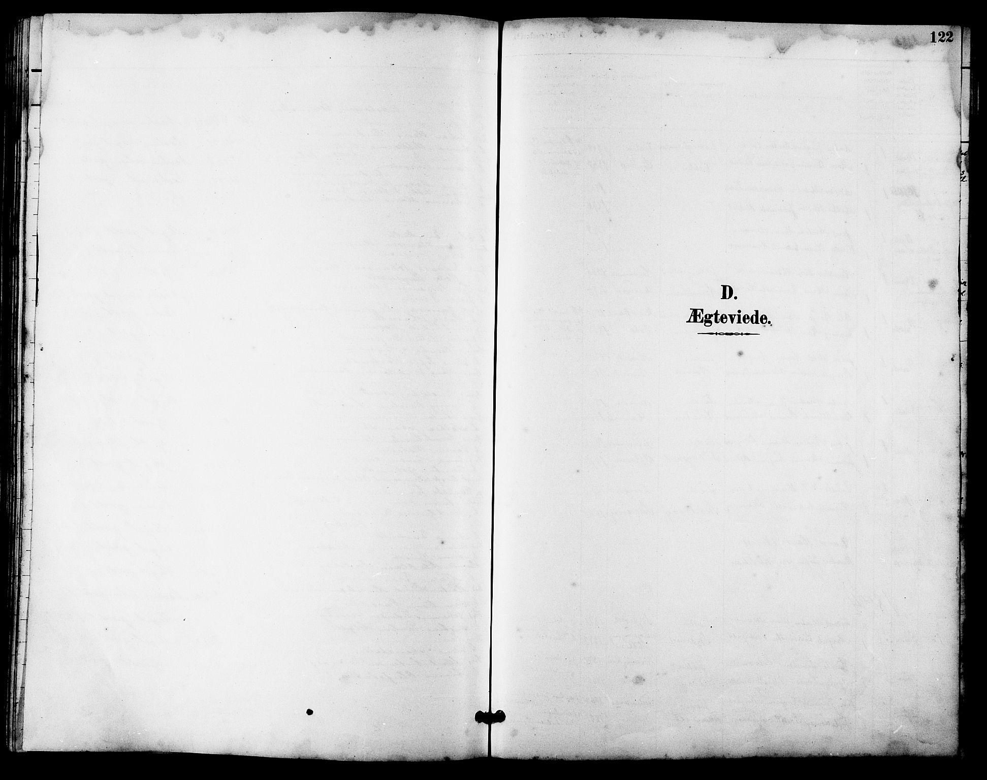 SAT, Ministerialprotokoller, klokkerbøker og fødselsregistre - Sør-Trøndelag, 641/L0598: Klokkerbok nr. 641C02, 1893-1910, s. 122