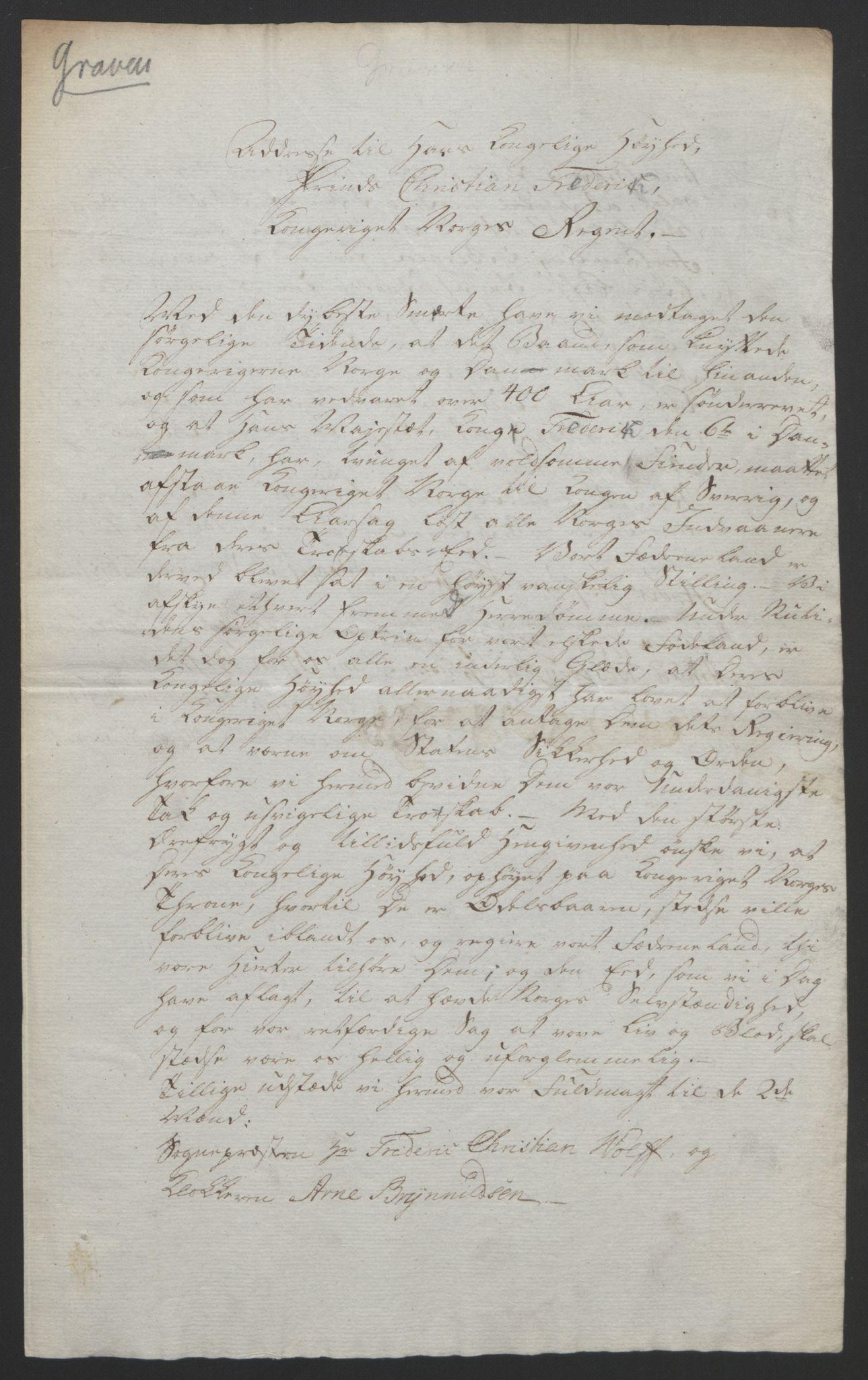 RA, Statsrådssekretariatet, D/Db/L0008: Fullmakter for Eidsvollsrepresentantene i 1814. , 1814, s. 277