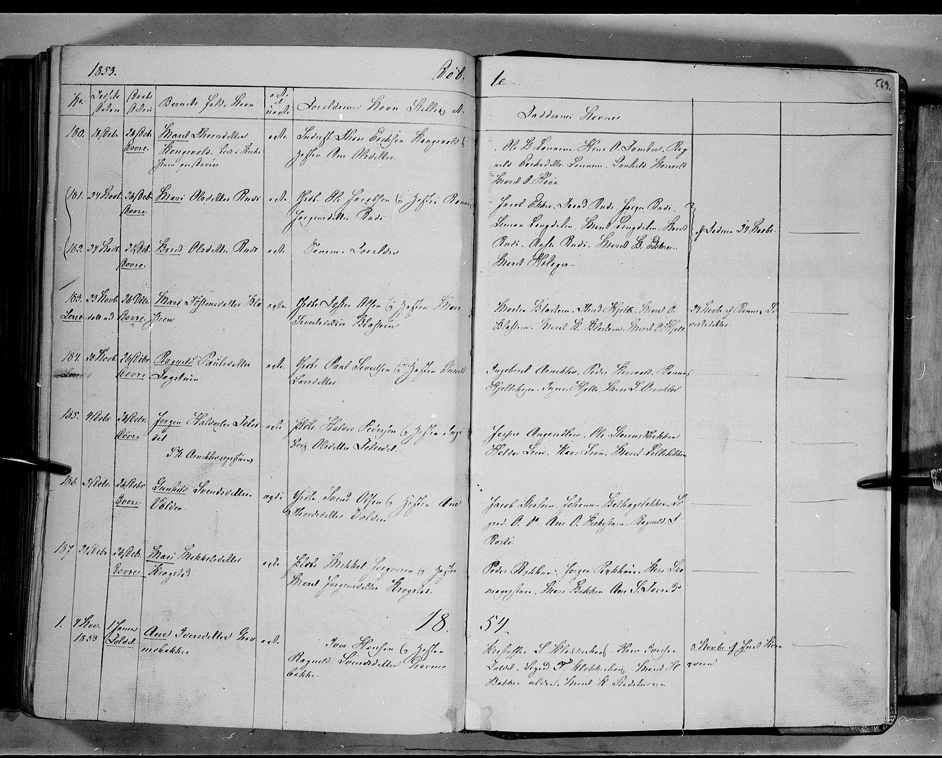 SAH, Lesja prestekontor, Ministerialbok nr. 6B, 1843-1854, s. 569