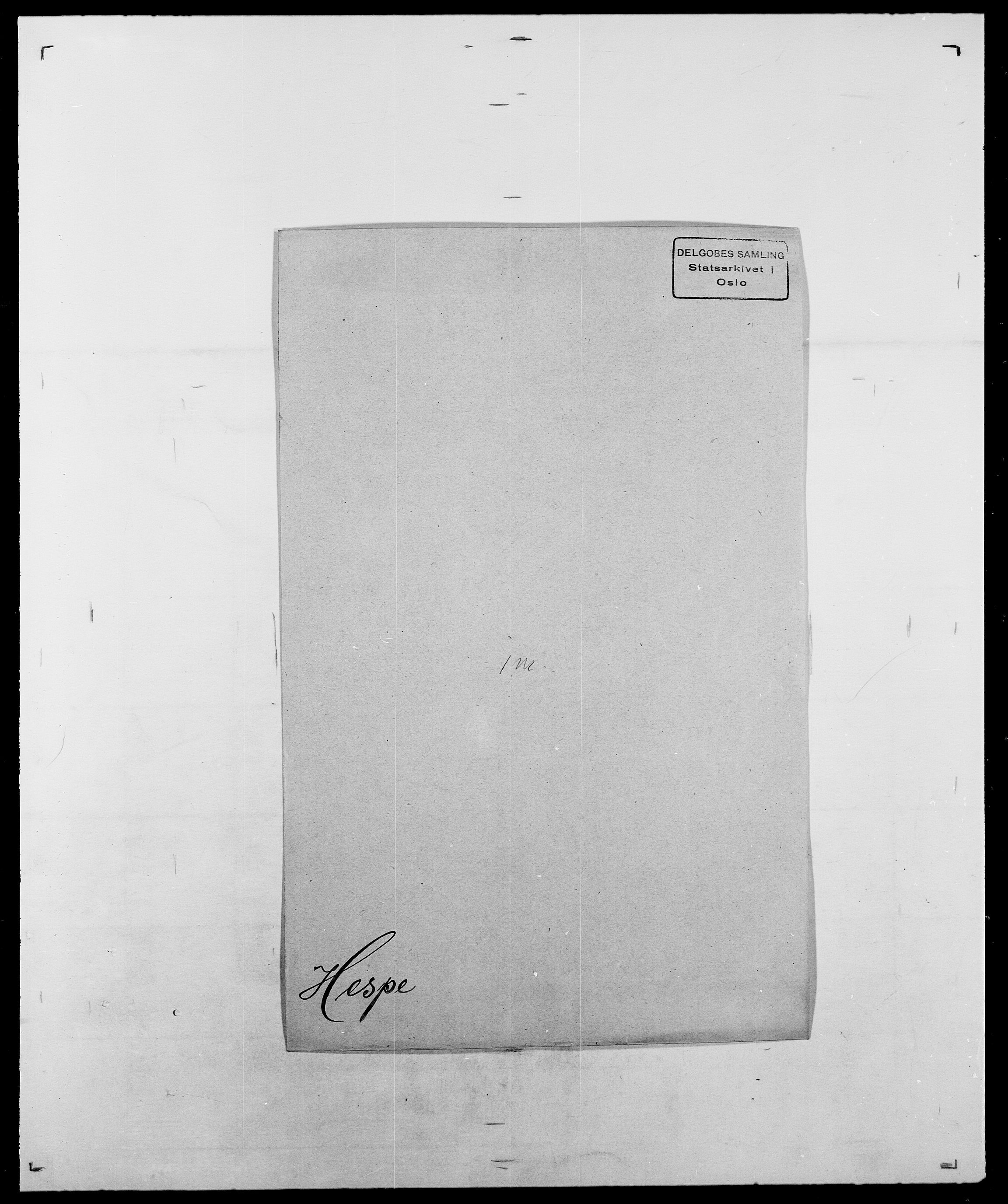 SAO, Delgobe, Charles Antoine - samling, D/Da/L0017: Helander - Hjørne, s. 301