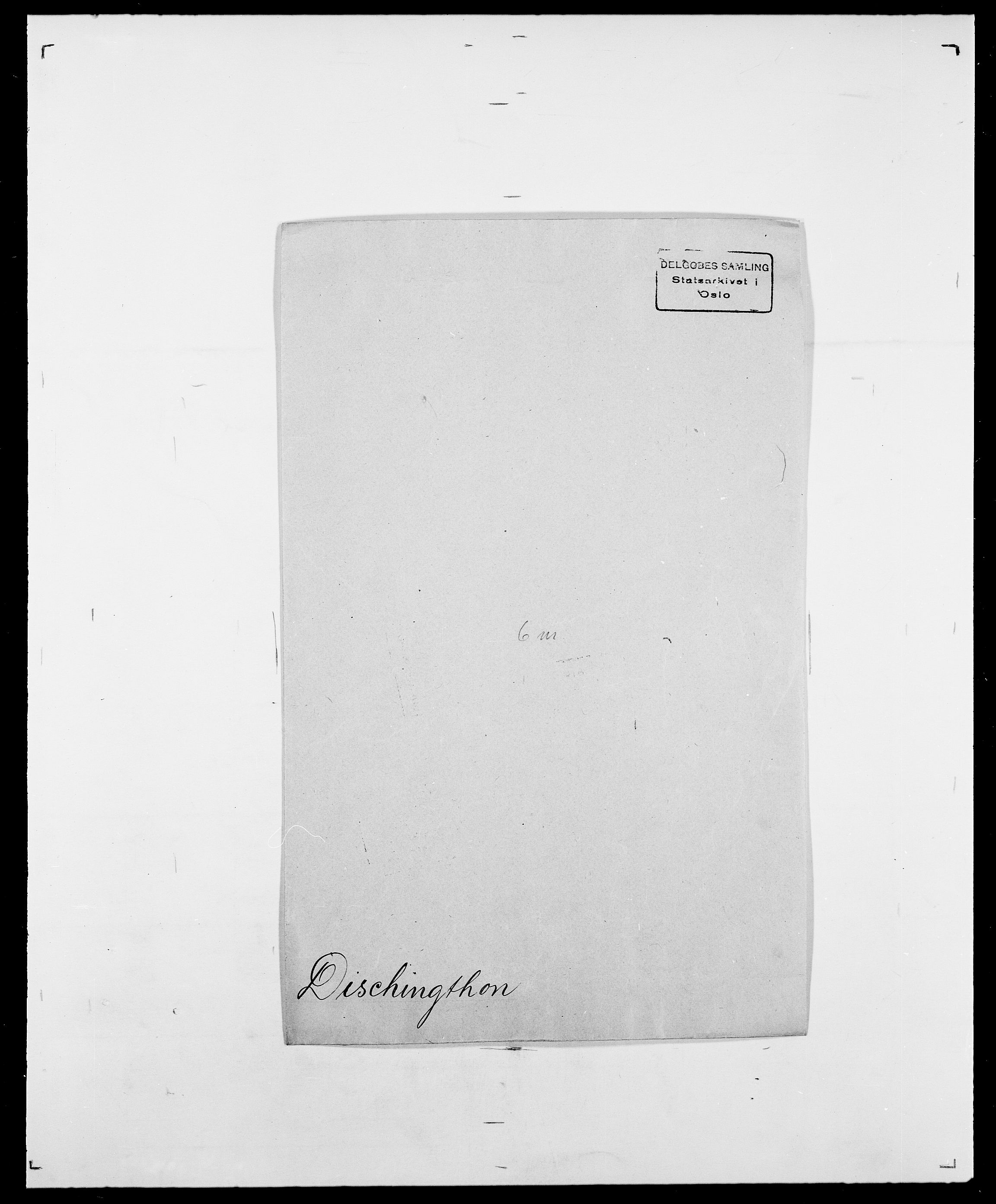 SAO, Delgobe, Charles Antoine - samling, D/Da/L0009: Dahl - v. Düren, s. 588