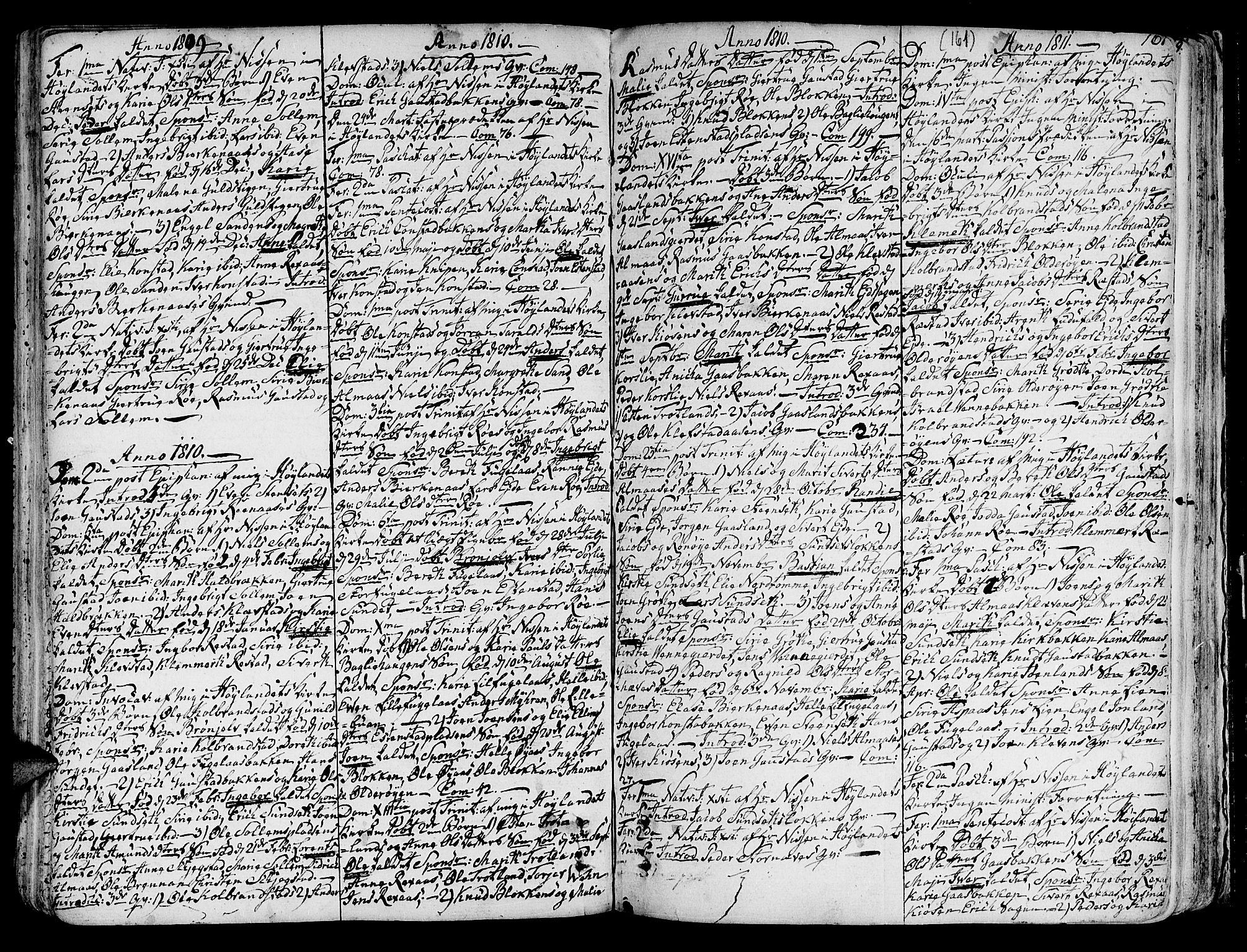 SAT, Ministerialprotokoller, klokkerbøker og fødselsregistre - Sør-Trøndelag, 691/L1064: Ministerialbok nr. 691A02 /4, 1768-1815, s. 161