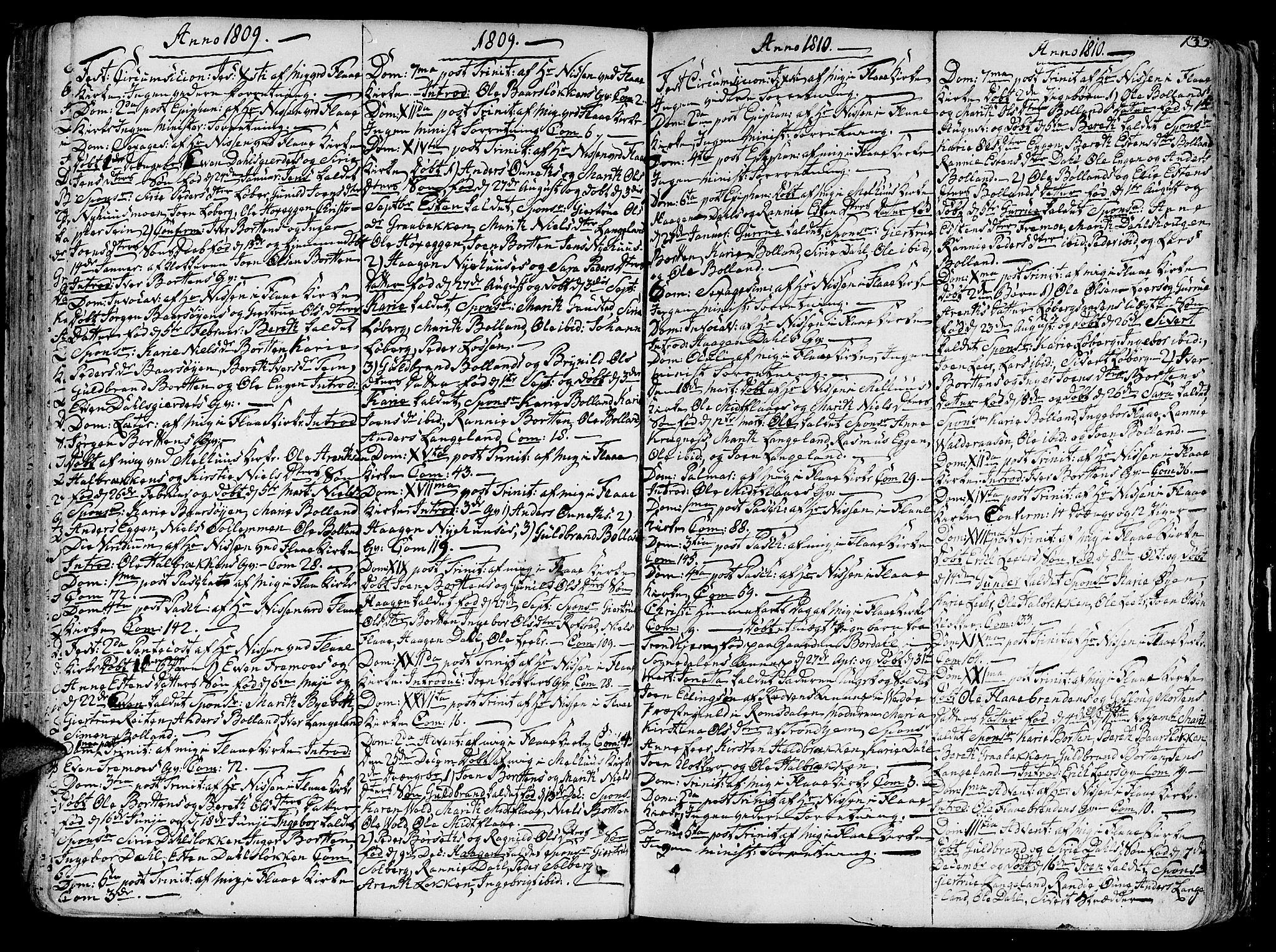 SAT, Ministerialprotokoller, klokkerbøker og fødselsregistre - Sør-Trøndelag, 691/L1062: Ministerialbok nr. 691A02 /2, 1768-1815, s. 133