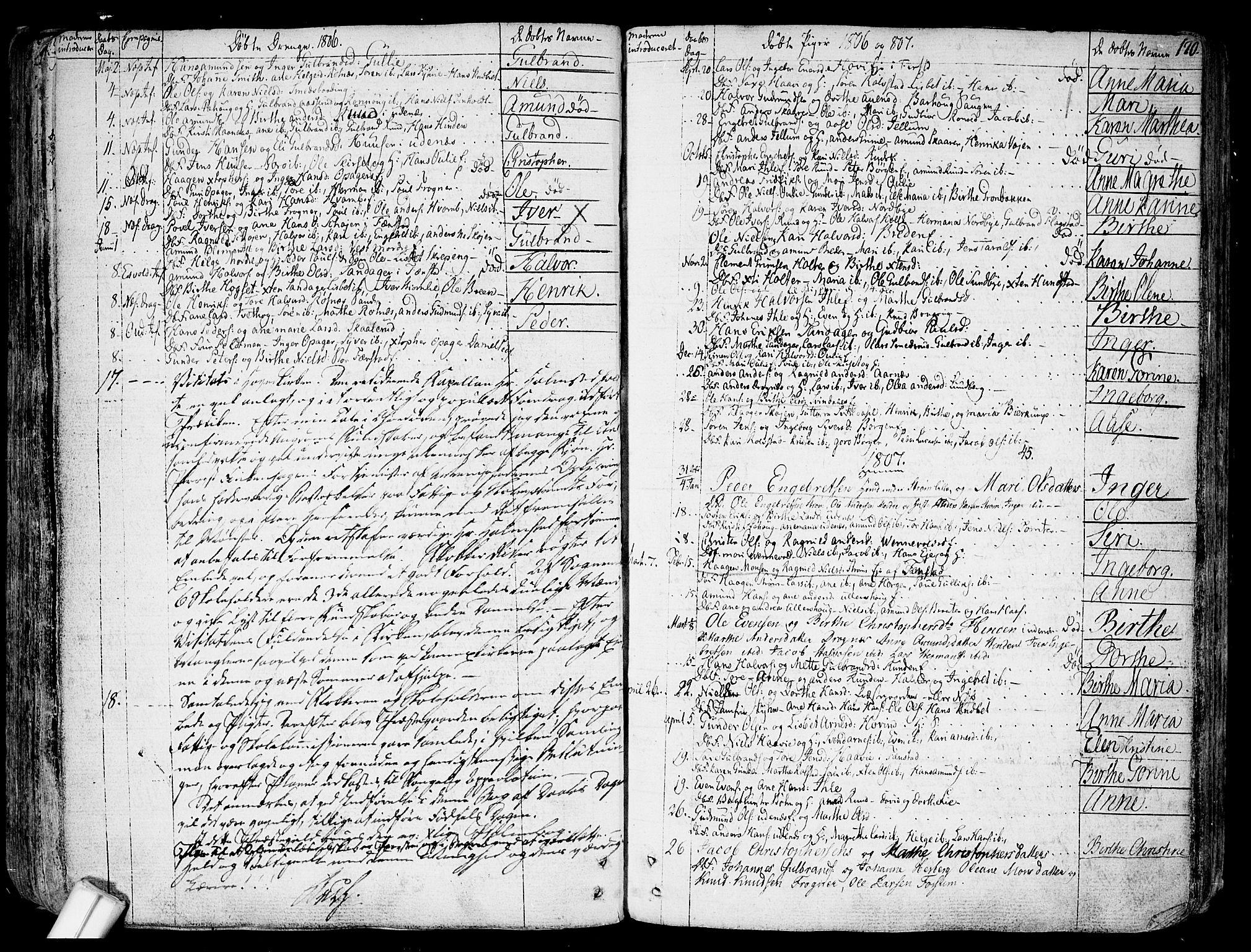 SAO, Nes prestekontor Kirkebøker, F/Fa/L0004: Ministerialbok nr. I 4, 1781-1816, s. 170