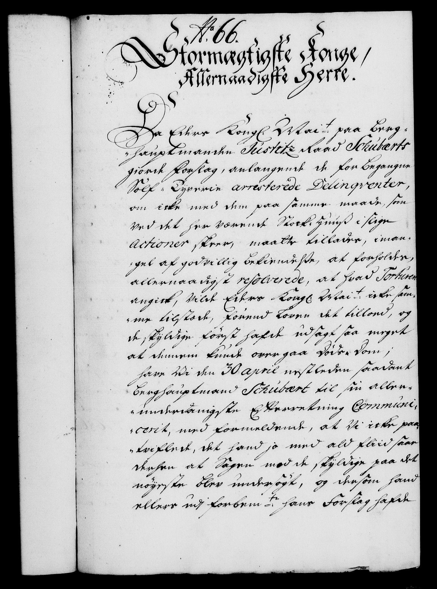 RA, Rentekammeret, Kammerkanselliet, G/Gf/Gfa/L0018: Norsk relasjons- og resolusjonsprotokoll (merket RK 52.18), 1735, s. 446
