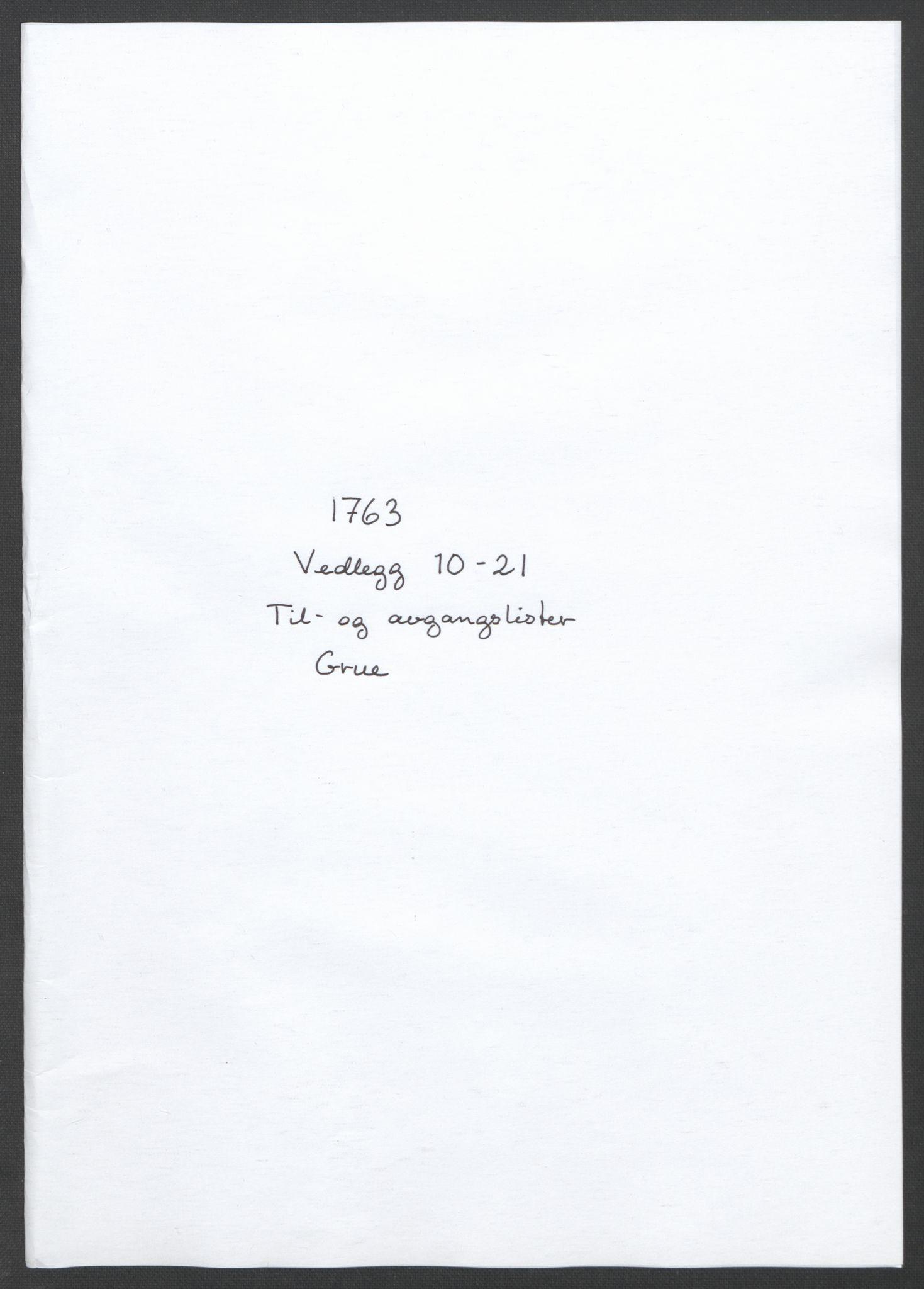 RA, Rentekammeret inntil 1814, Reviderte regnskaper, Fogderegnskap, R14/L0959: Ekstraskatten Solør og Odal, 1763-1770, s. 77