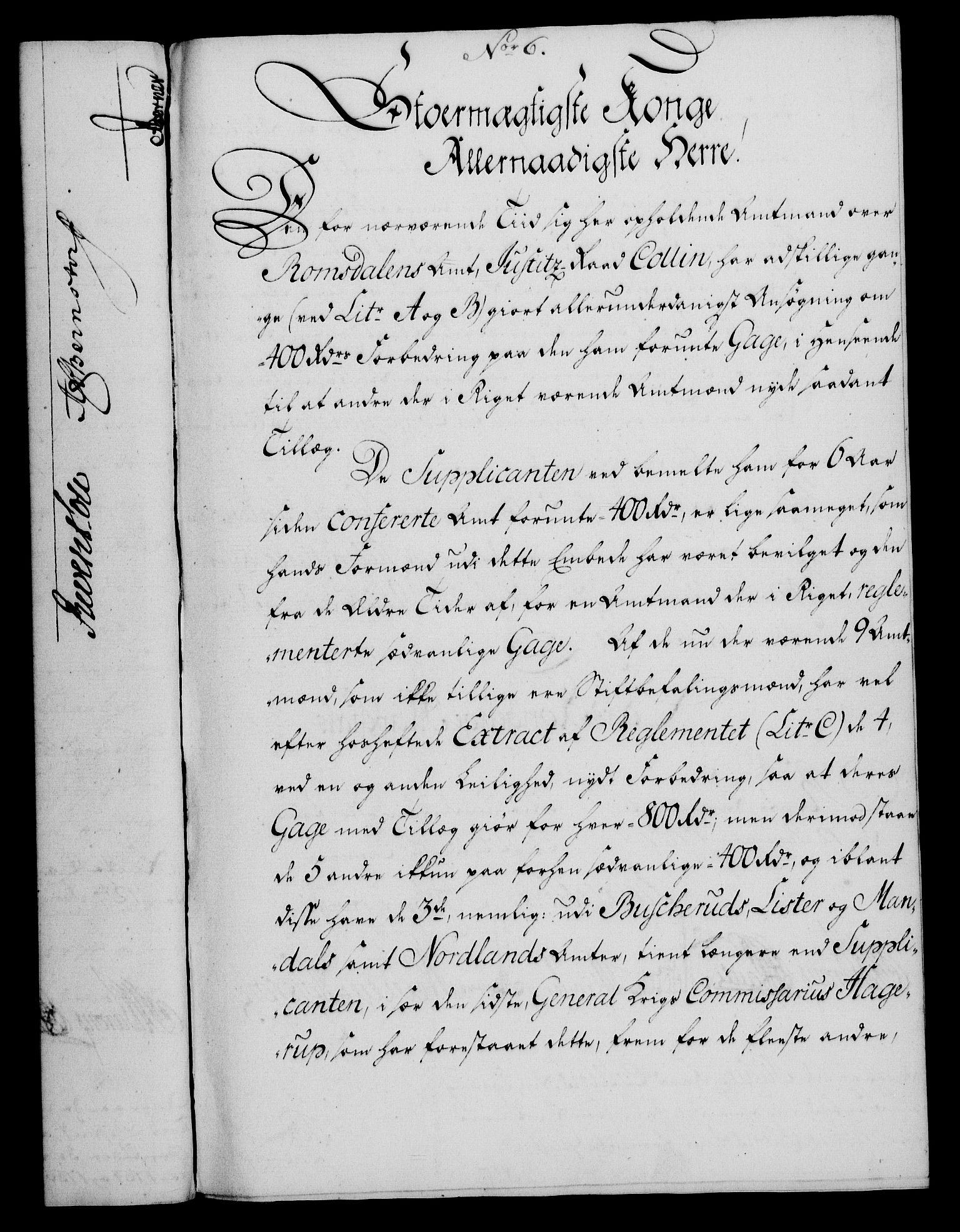 RA, Rentekammeret, Kammerkanselliet, G/Gf/Gfa/L0049: Norsk relasjons- og resolusjonsprotokoll (merket RK 52.49), 1767, s. 44