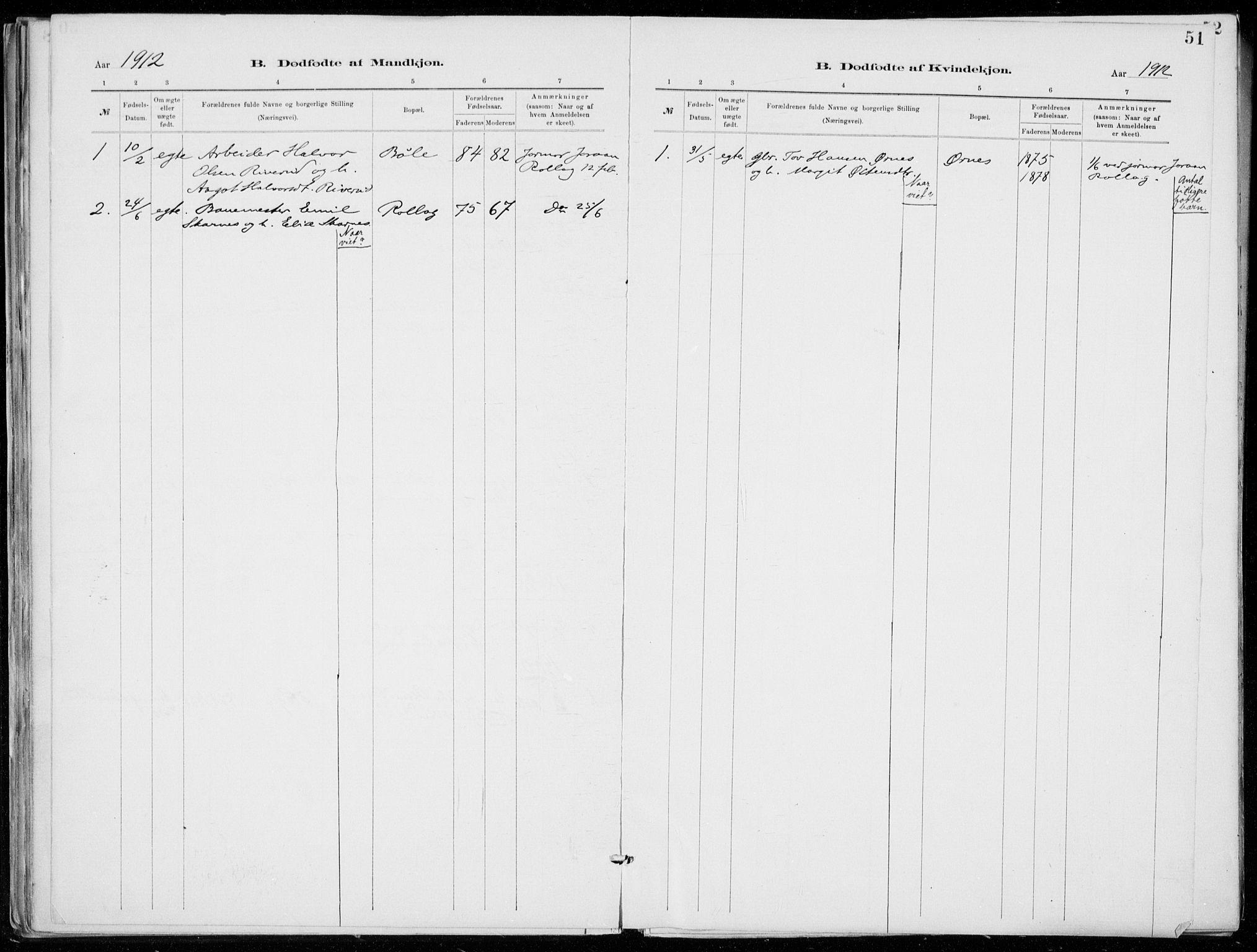 SAKO, Tinn kirkebøker, F/Fb/L0002: Ministerialbok nr. II 2, 1878-1917, s. 51