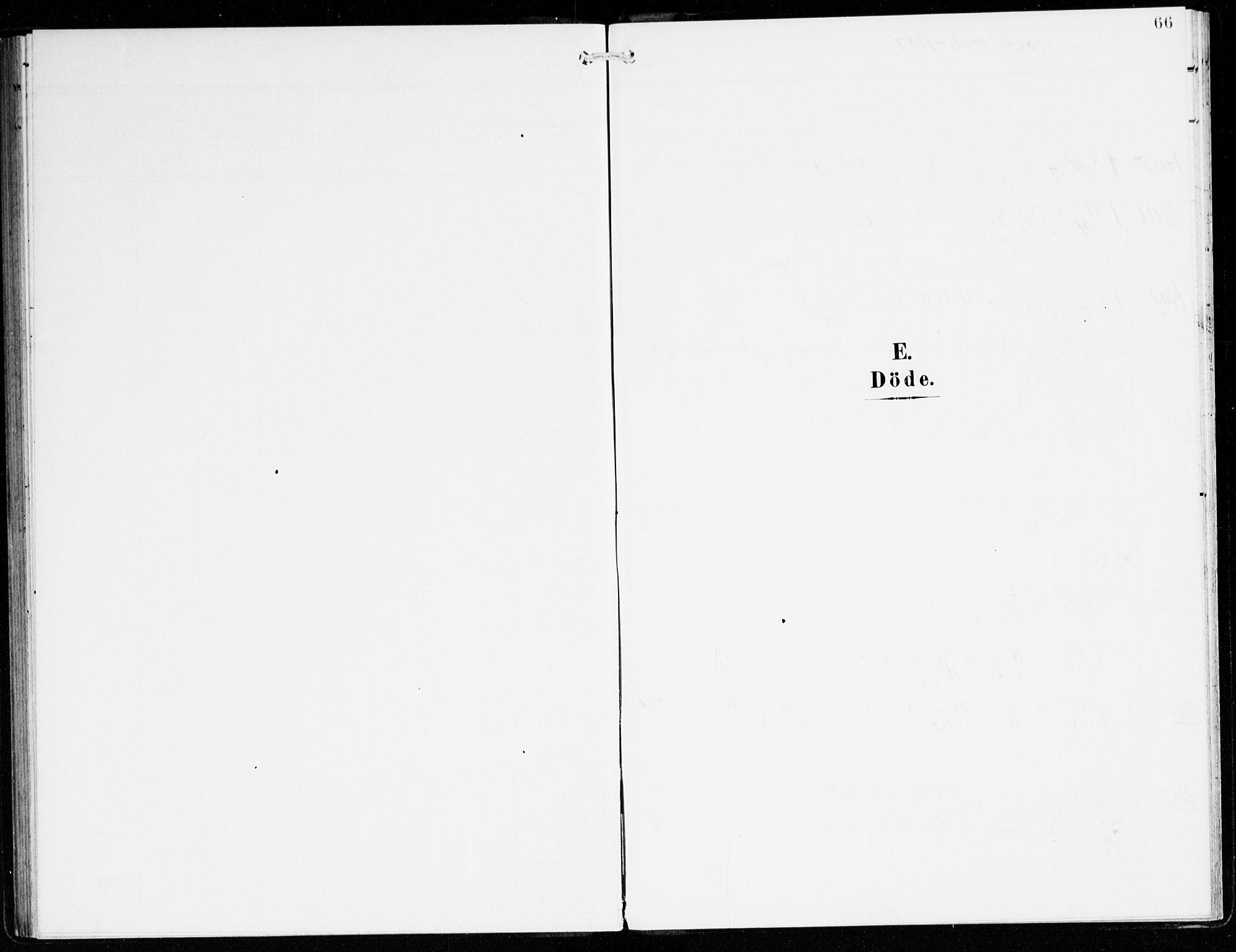 SAB, Hyllestad Sokneprestembete, Ministerialbok nr. C 2, 1904-1917, s. 66