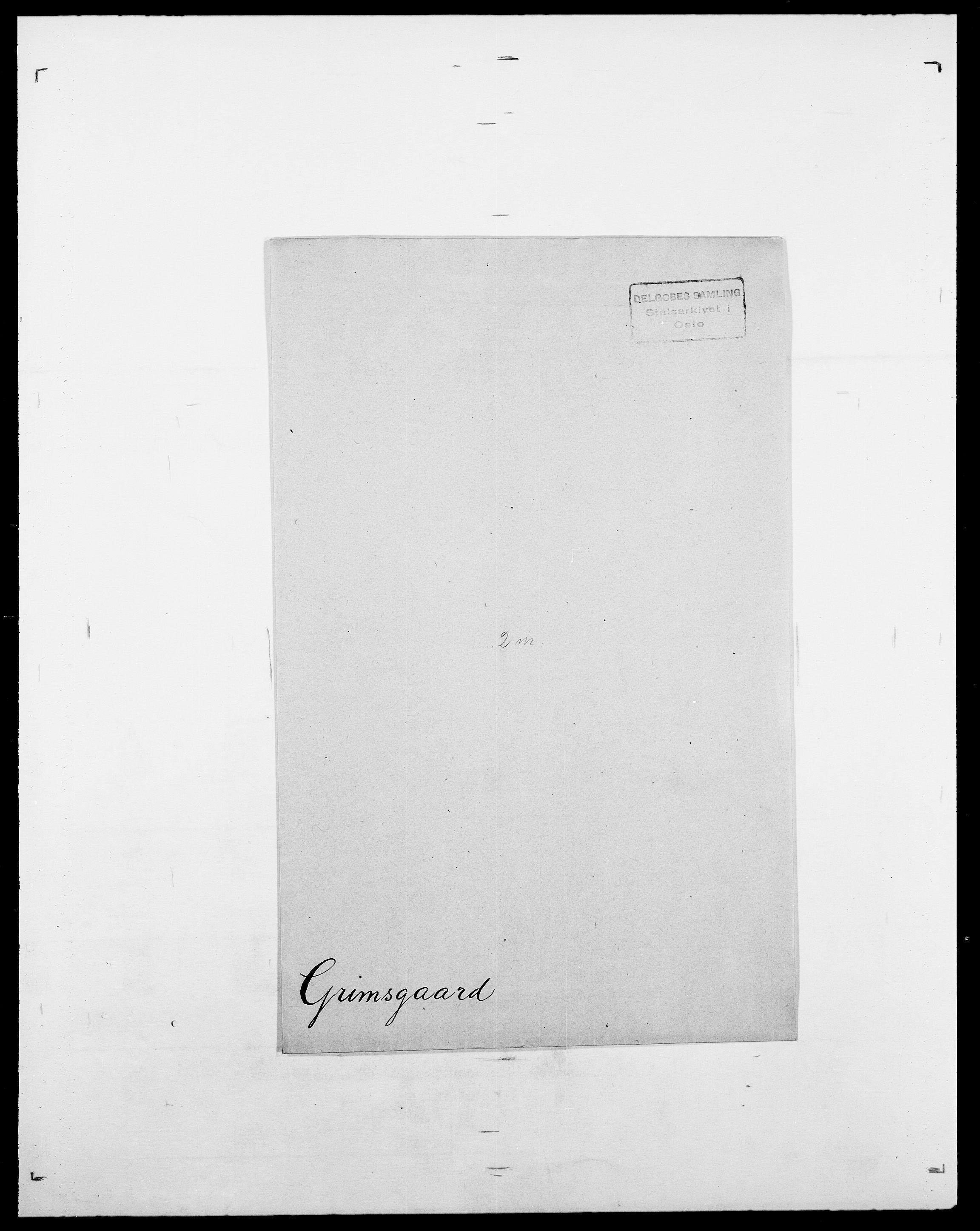 SAO, Delgobe, Charles Antoine - samling, D/Da/L0014: Giebdhausen - Grip, s. 688