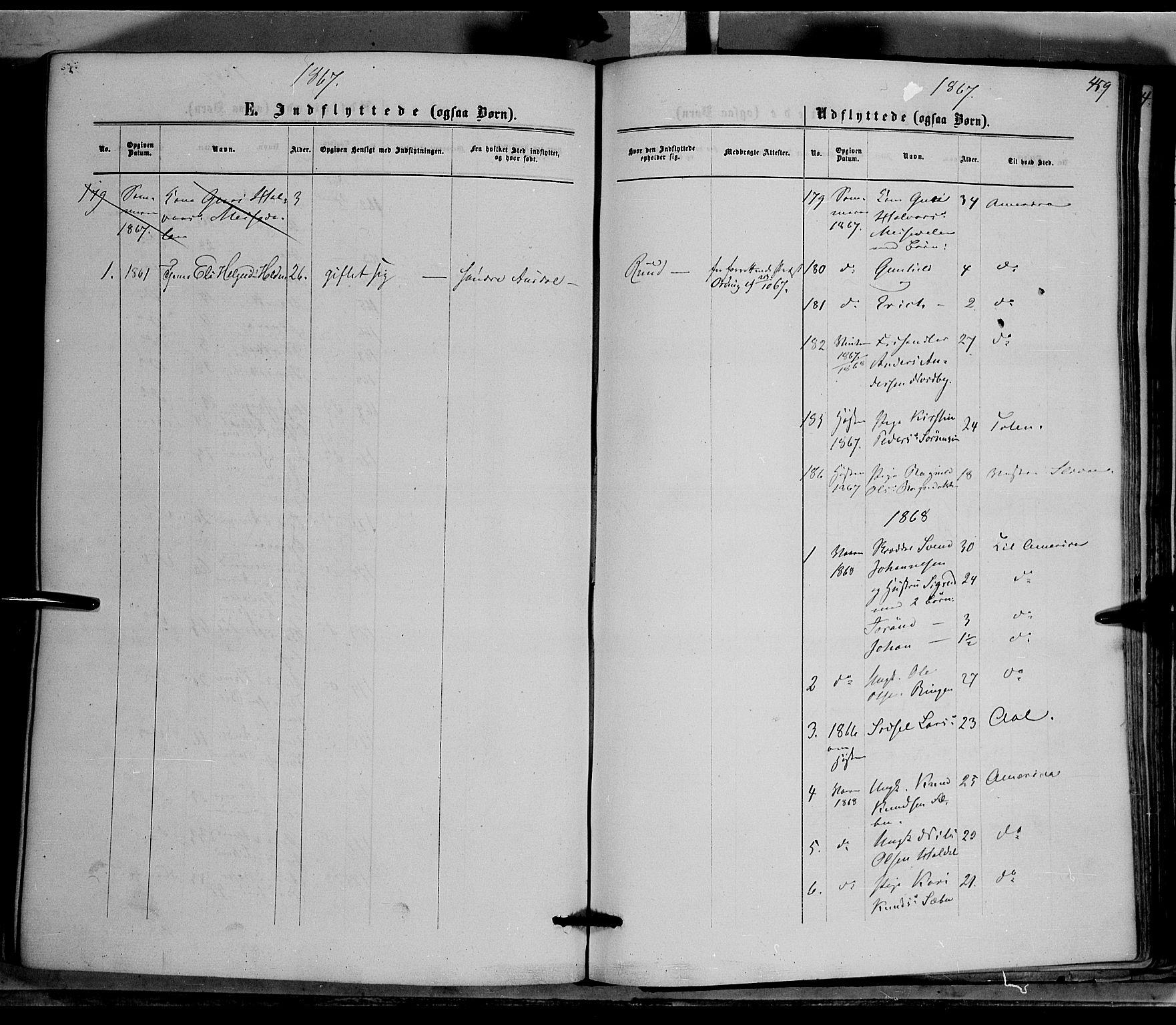 SAH, Nord-Aurdal prestekontor, Ministerialbok nr. 8, 1863-1875, s. 459