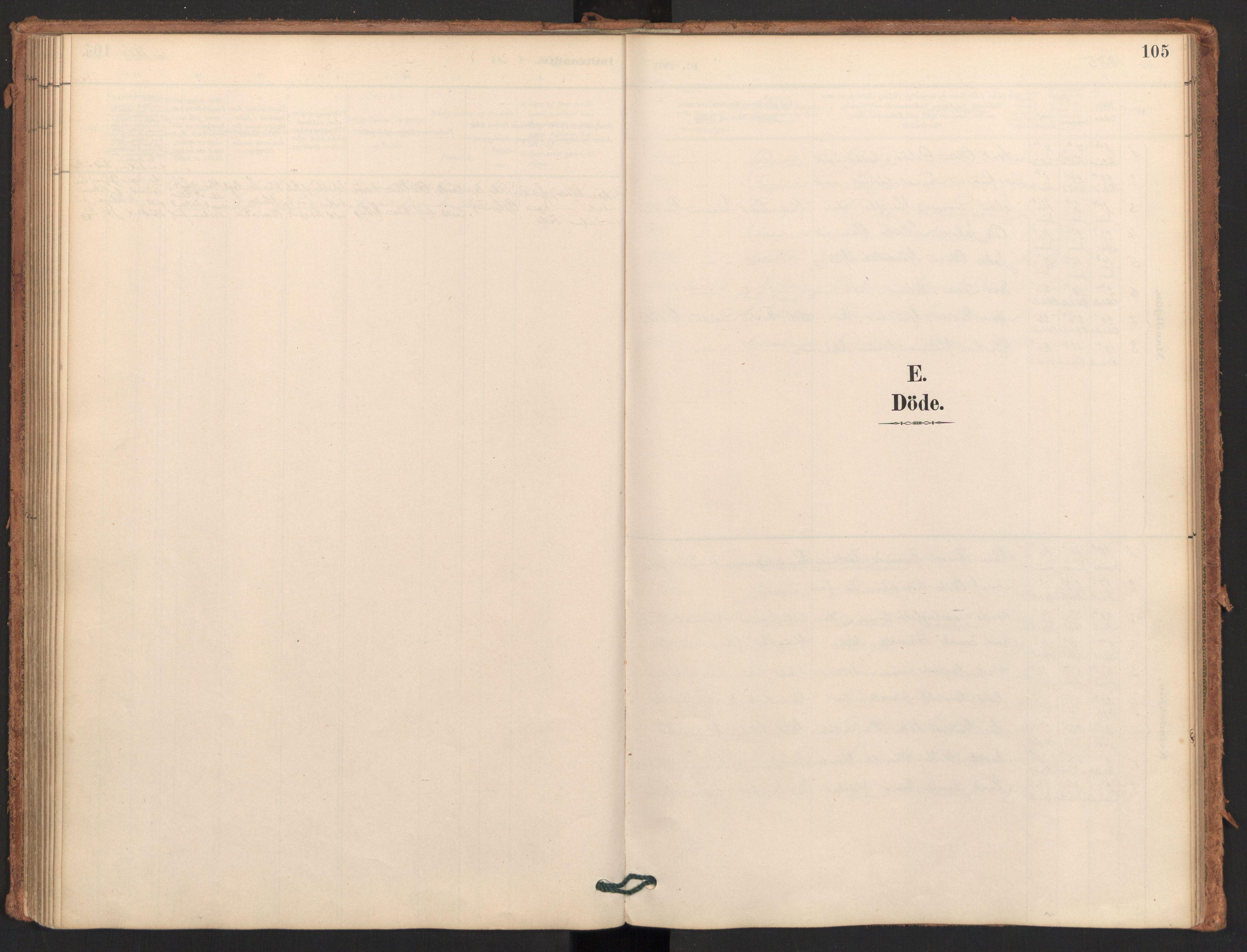 SAT, Ministerialprotokoller, klokkerbøker og fødselsregistre - Møre og Romsdal, 596/L1056: Ministerialbok nr. 596A01, 1885-1900, s. 105