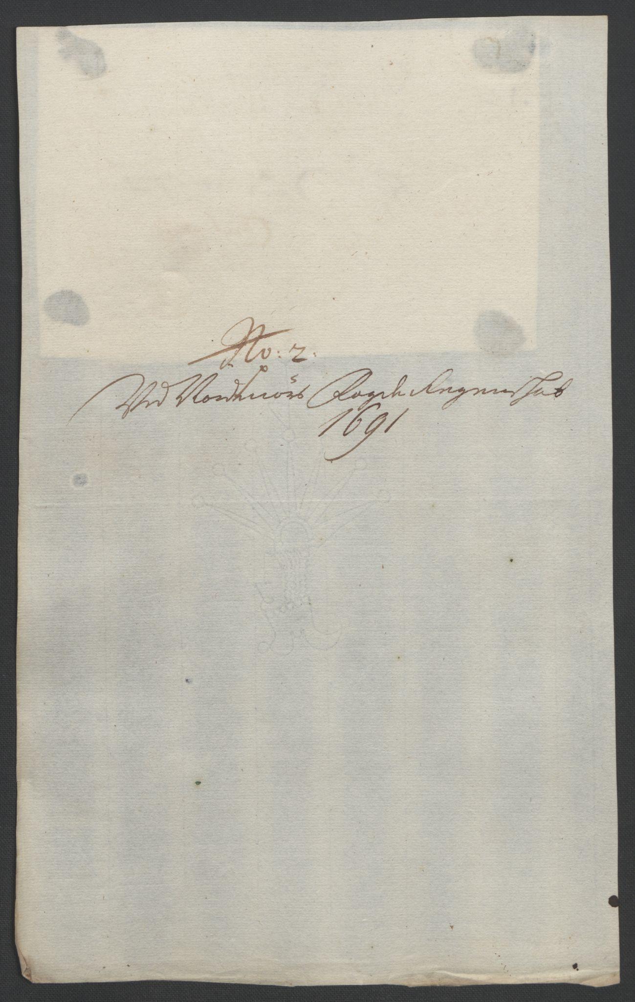 RA, Rentekammeret inntil 1814, Reviderte regnskaper, Fogderegnskap, R56/L3734: Fogderegnskap Nordmøre, 1690-1691, s. 406