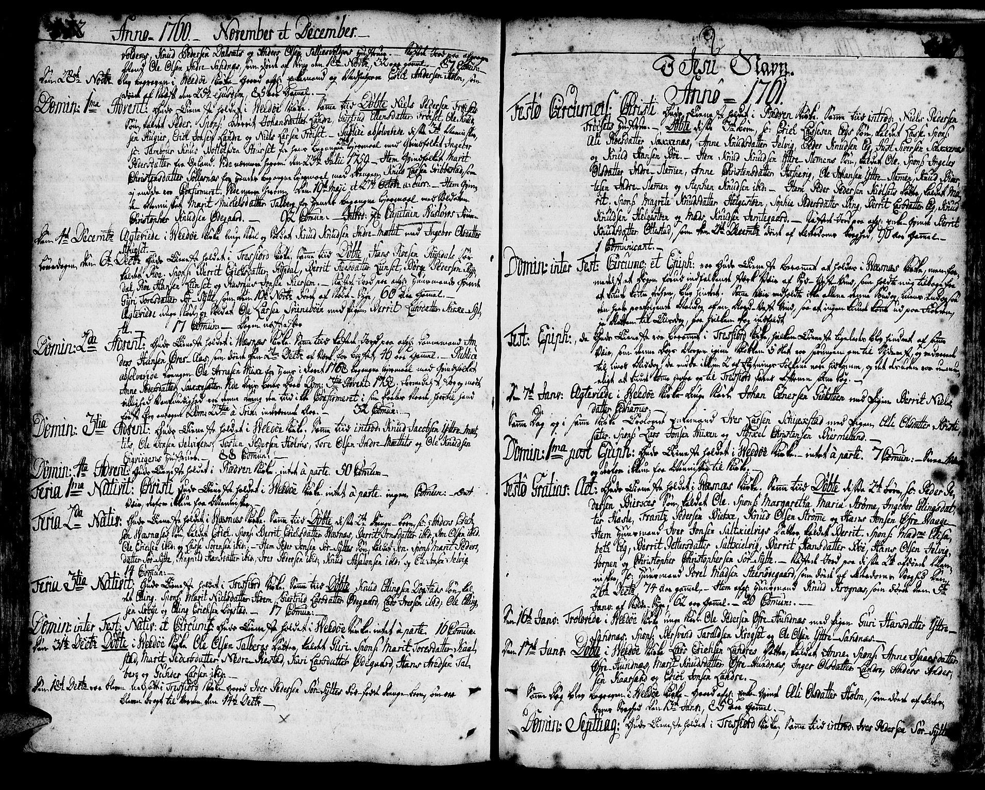 SAT, Ministerialprotokoller, klokkerbøker og fødselsregistre - Møre og Romsdal, 547/L0599: Ministerialbok nr. 547A01, 1721-1764, s. 472-473