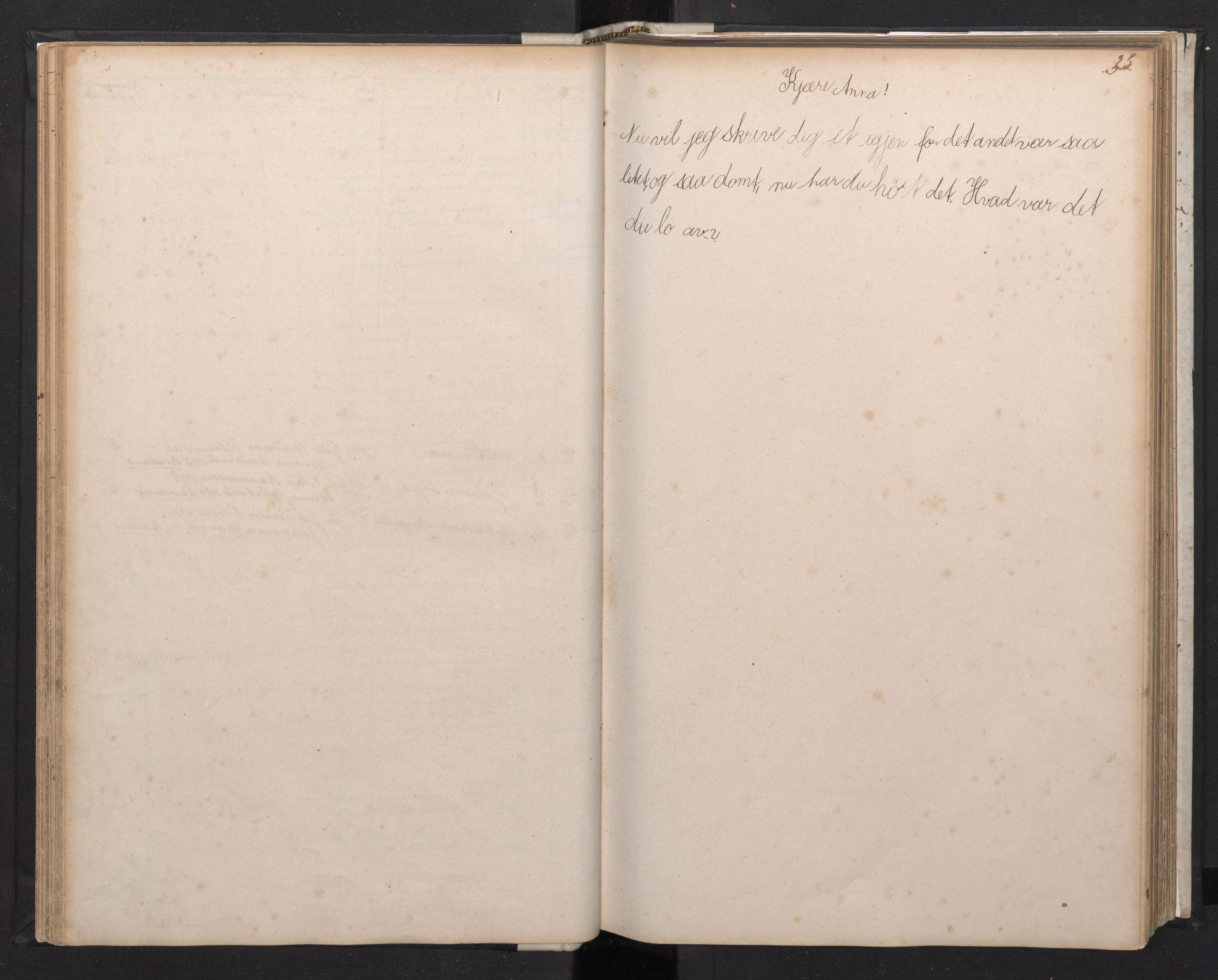 SAB, Manger sokneprestembete, H/Hab: Klokkerbok nr. A 1, 1874-1901, s. 34b-35a
