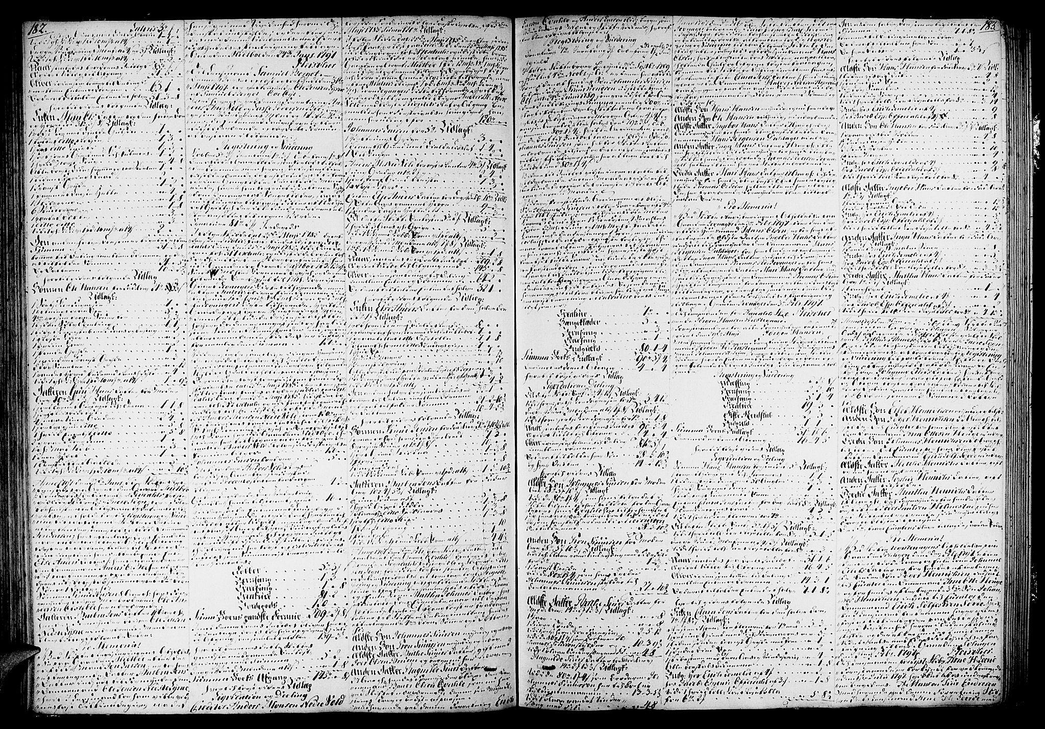 SAB, Indre Sogn sorenskriveri, H/Ha/L0011a: Skifteprotokoll 11a, 1795-1800, s. 182-183