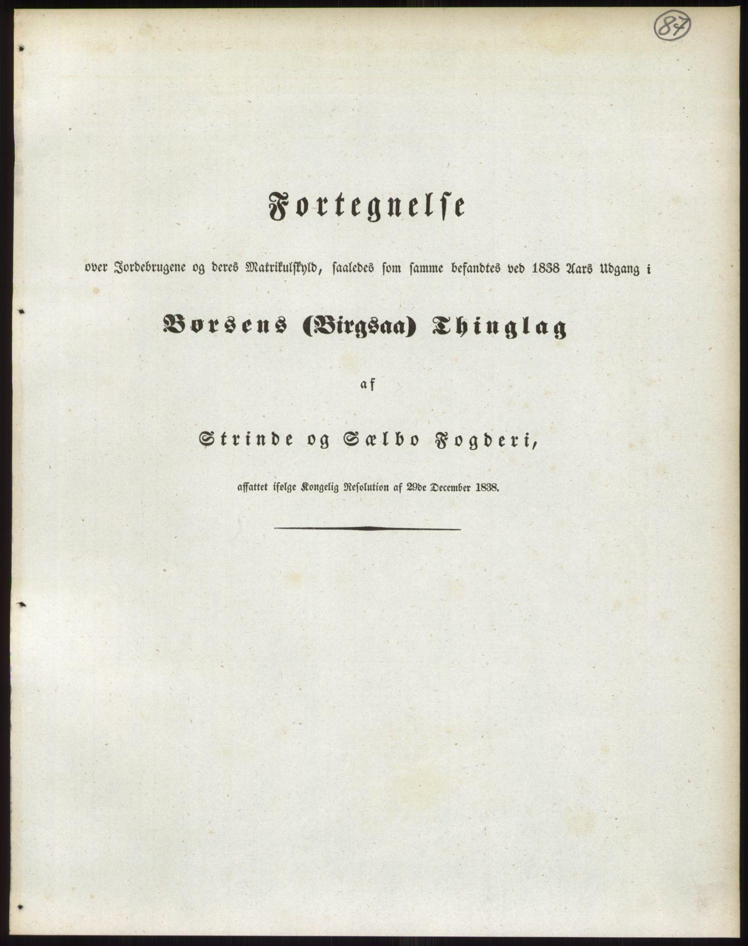 PUBL, Andre publikasjoner, -/Bind 15: Søndre Trondhjems amt, 1838, s. 139