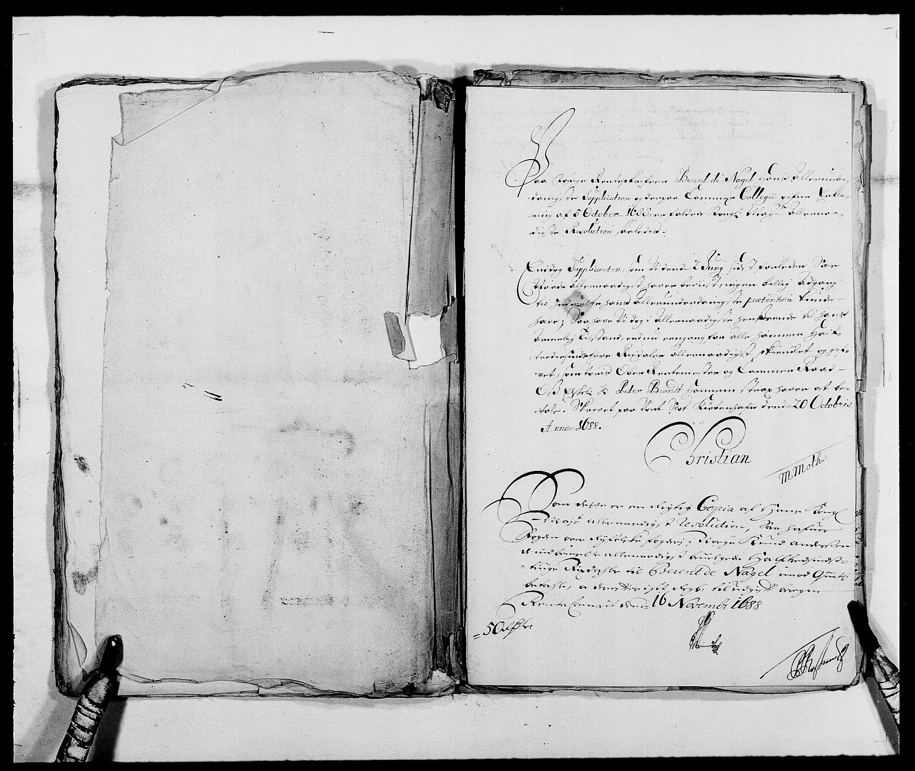 RA, Rentekammeret inntil 1814, Reviderte regnskaper, Fogderegnskap, R47/L2855: Fogderegnskap Ryfylke, 1685-1688, s. 441