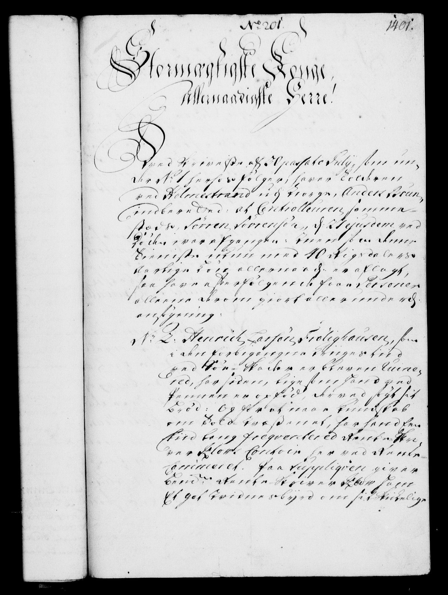 RA, Rentekammeret, Kammerkanselliet, G/Gf/Gfa/L0003: Norsk relasjons- og resolusjonsprotokoll (merket RK 52.3), 1720, s. 375