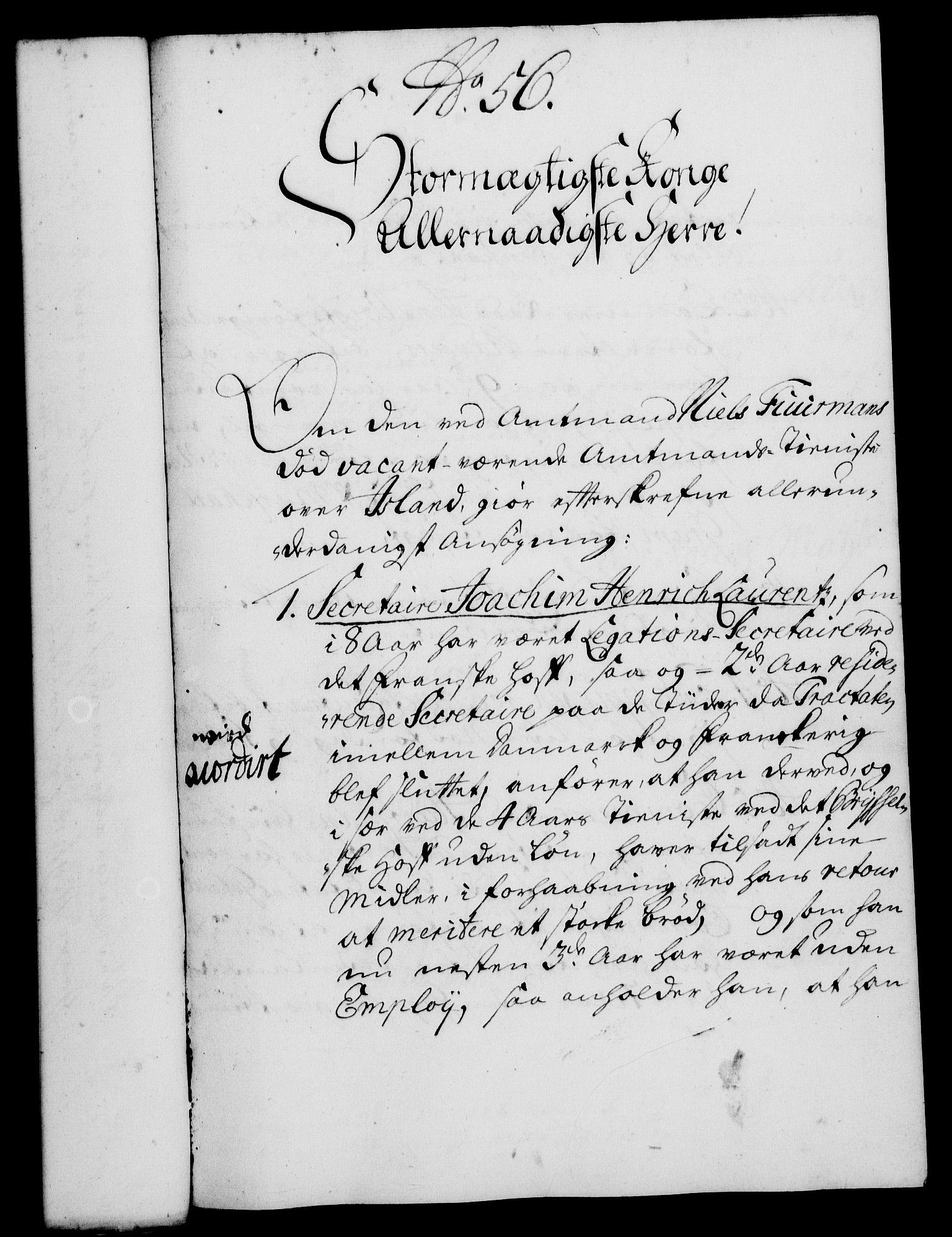 RA, Rentekammeret, Kammerkanselliet, G/Gf/Gfa/L0016: Norsk relasjons- og resolusjonsprotokoll (merket RK 52.16), 1733, s. 333