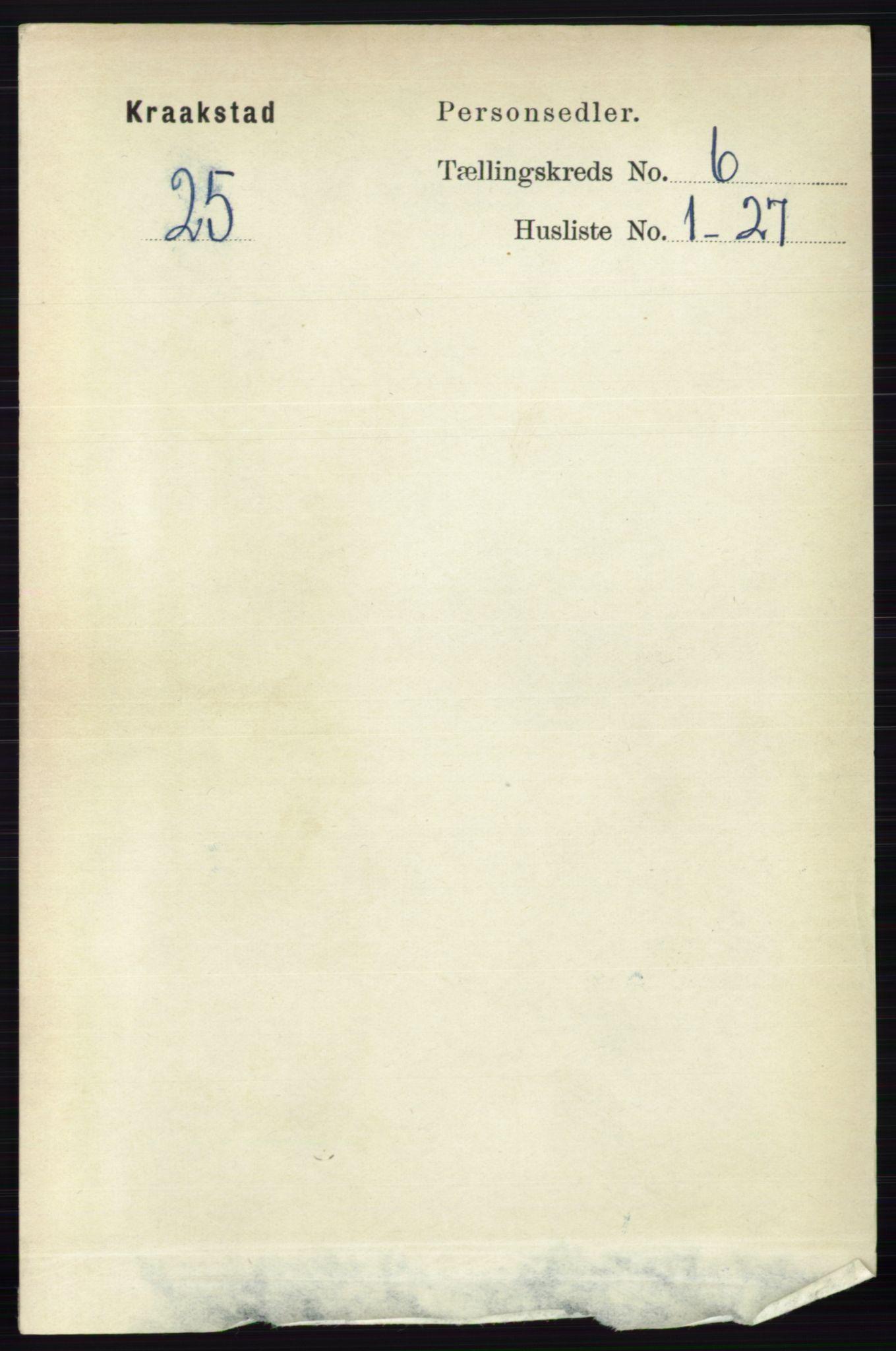 RA, Folketelling 1891 for 0212 Kråkstad herred, 1891, s. 2996