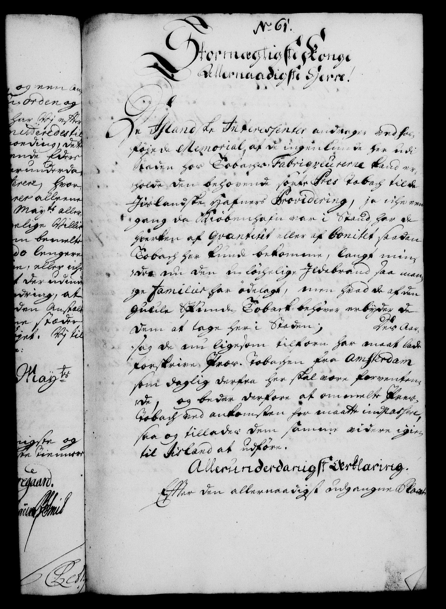 RA, Rentekammeret, Kammerkanselliet, G/Gf/Gfa/L0012: Norsk relasjons- og resolusjonsprotokoll (merket RK 52.12), 1729, s. 331