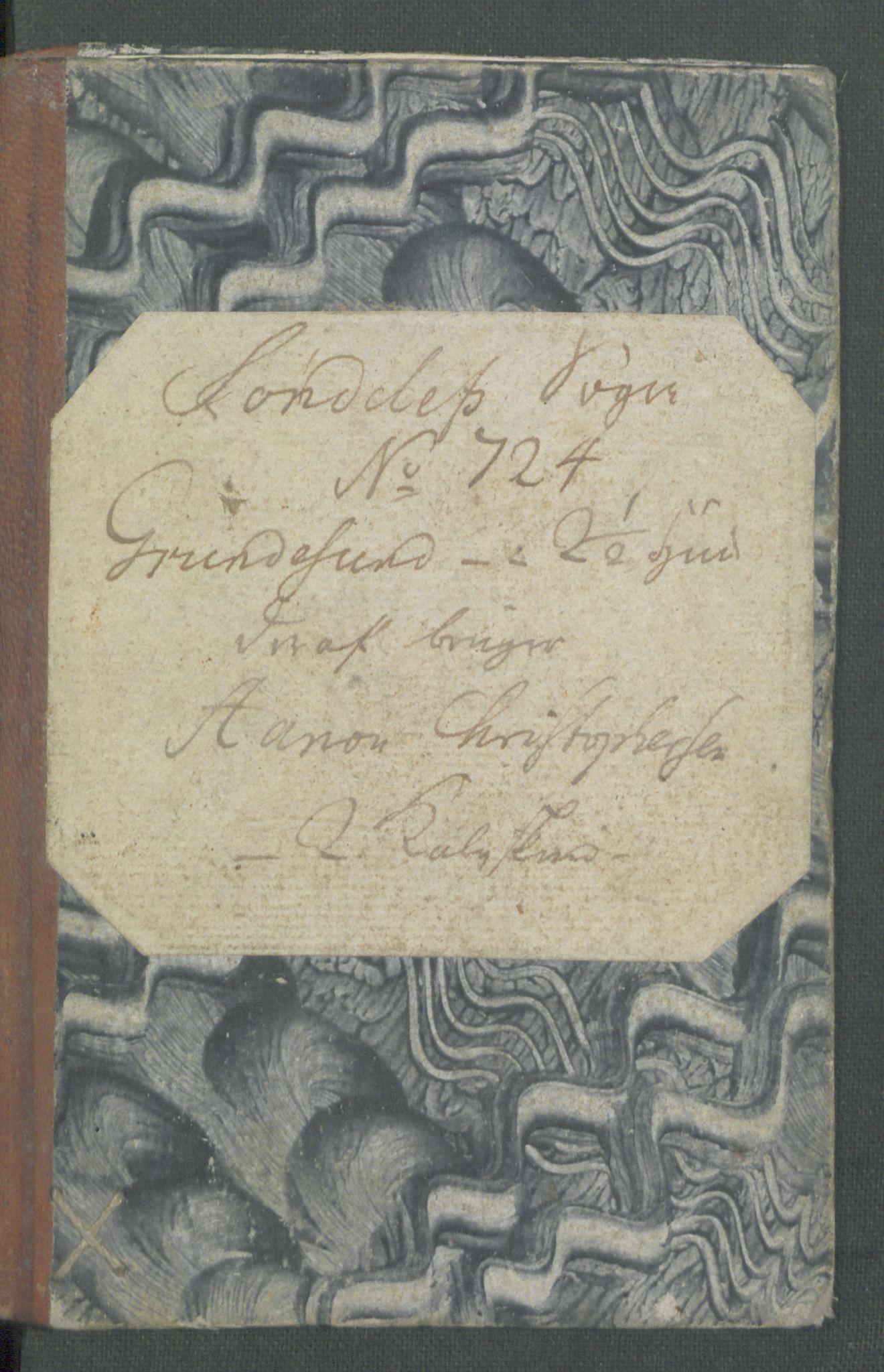 RA, Rentekammeret inntil 1814, Realistisk ordnet avdeling, Od/L0001: Oppløp, 1786-1769, s. 555