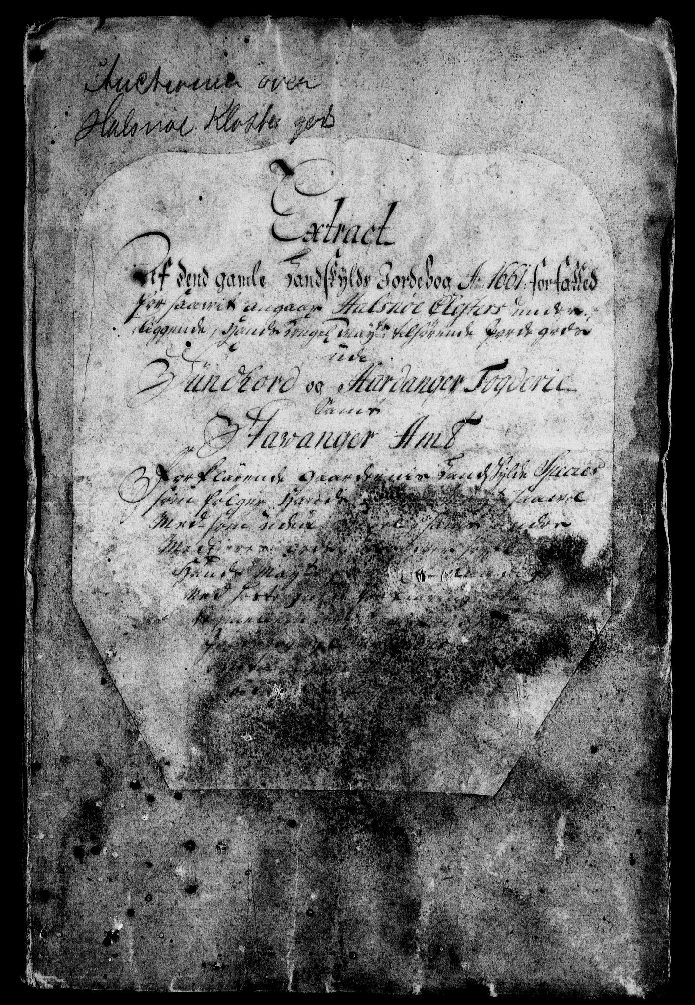 RA, Rentekammeret inntil 1814, Realistisk ordnet avdeling, On/L0005: [Jj 6]: Forskjellige dokumenter om Halsnøy klosters gods, 1697-1770, s. 142
