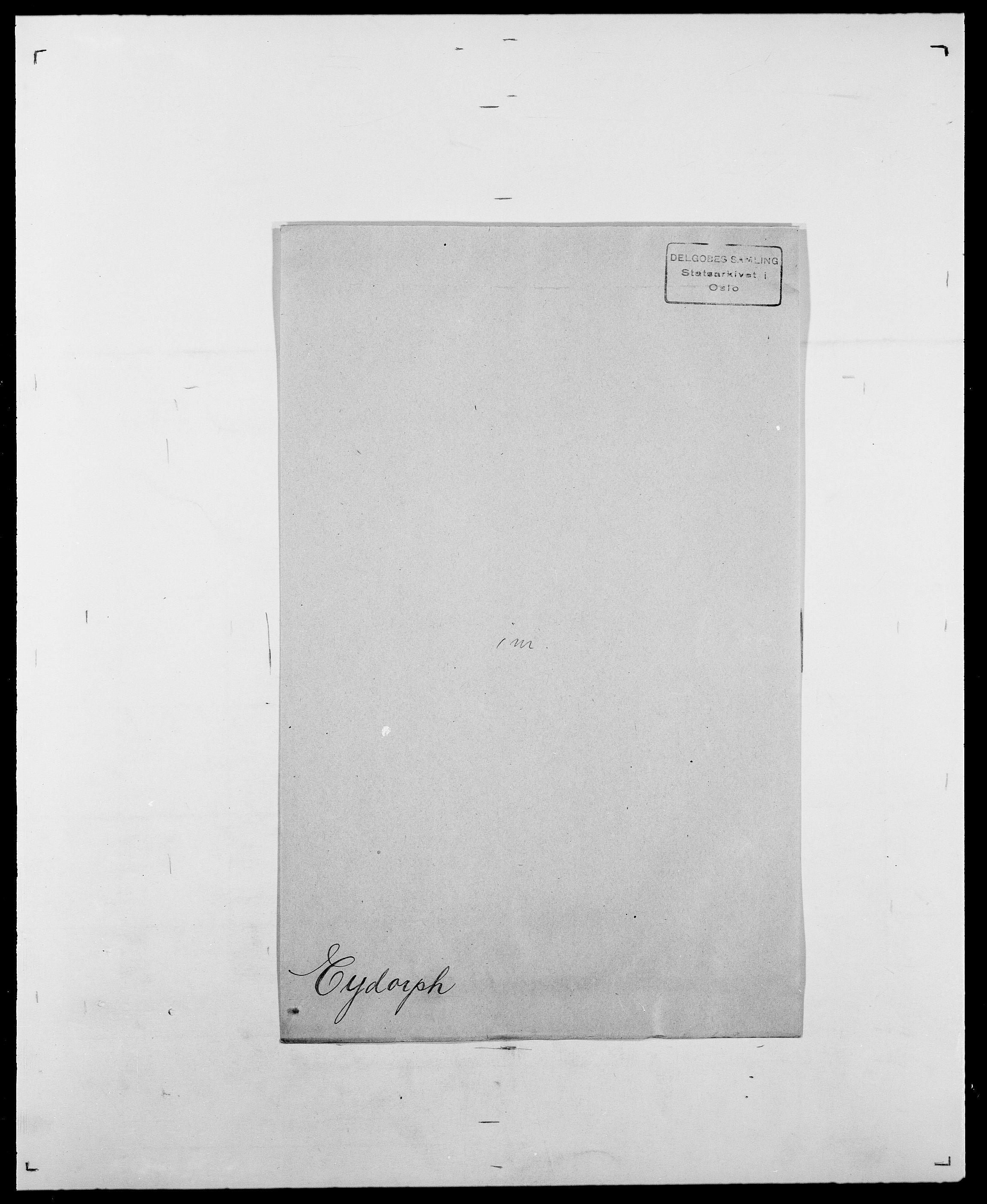 SAO, Delgobe, Charles Antoine - samling, D/Da/L0010: Dürendahl - Fagelund, s. 707