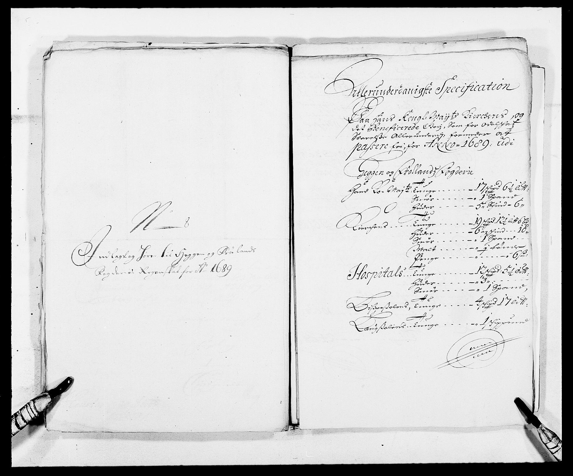 RA, Rentekammeret inntil 1814, Reviderte regnskaper, Fogderegnskap, R06/L0282: Fogderegnskap Heggen og Frøland, 1687-1690, s. 174