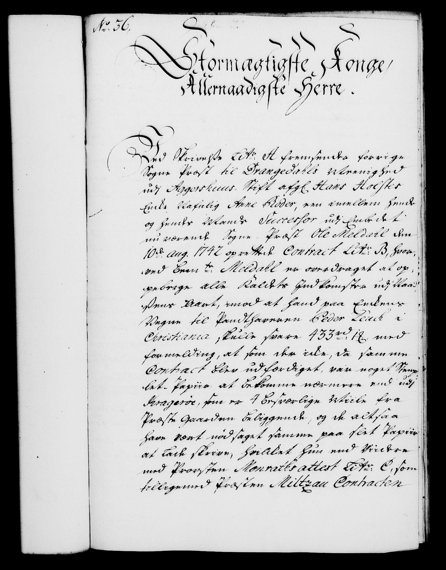 RA, Rentekammeret, Kammerkanselliet, G/Gf/Gfa/L0027: Norsk relasjons- og resolusjonsprotokoll (merket RK 52.27), 1744, s. 218