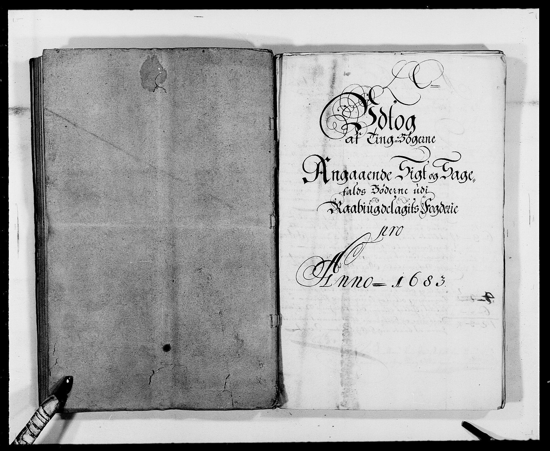 RA, Rentekammeret inntil 1814, Reviderte regnskaper, Fogderegnskap, R40/L2438: Fogderegnskap Råbyggelag, 1682-1683, s. 276