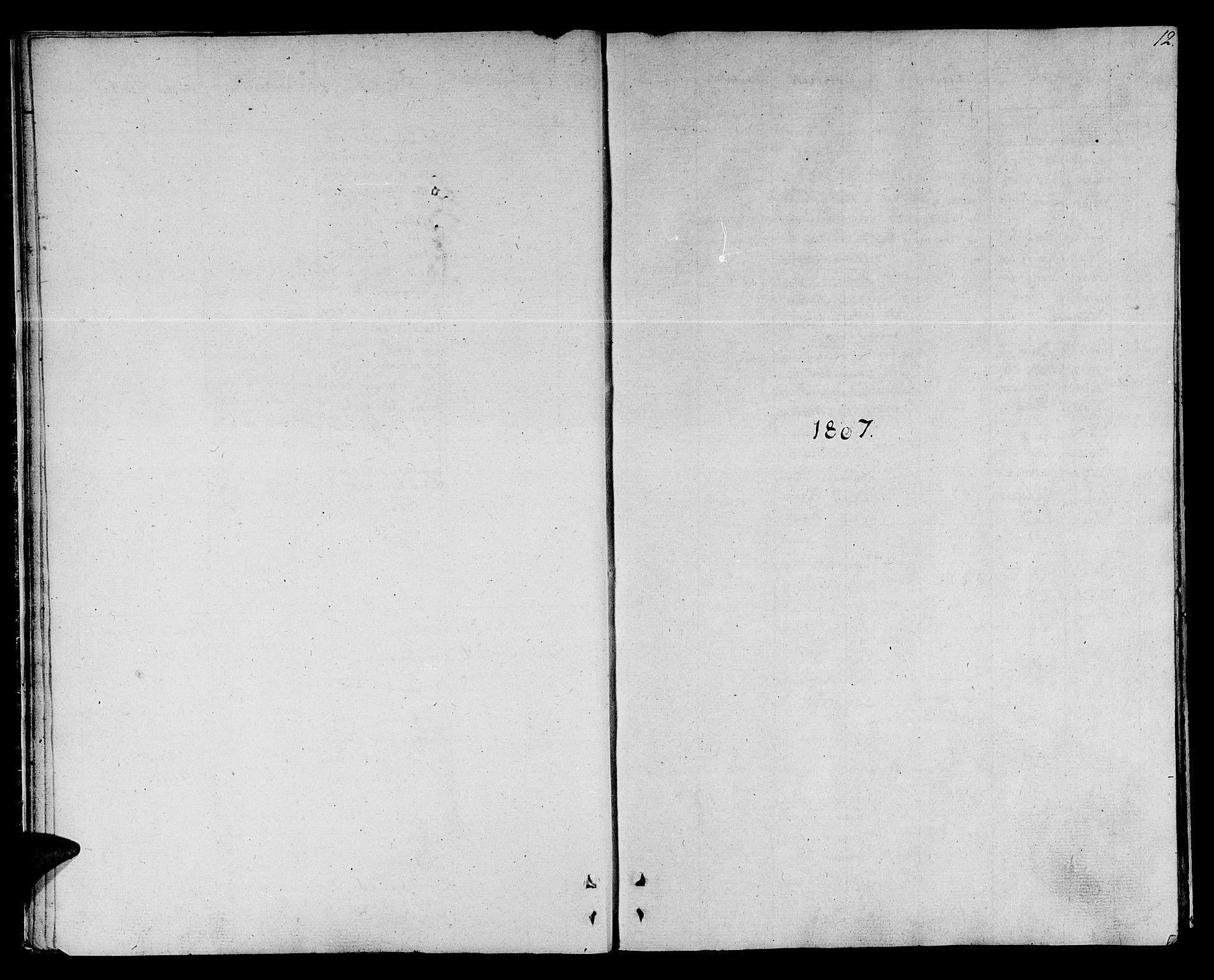 SAT, Ministerialprotokoller, klokkerbøker og fødselsregistre - Sør-Trøndelag, 678/L0894: Ministerialbok nr. 678A04, 1806-1815, s. 12