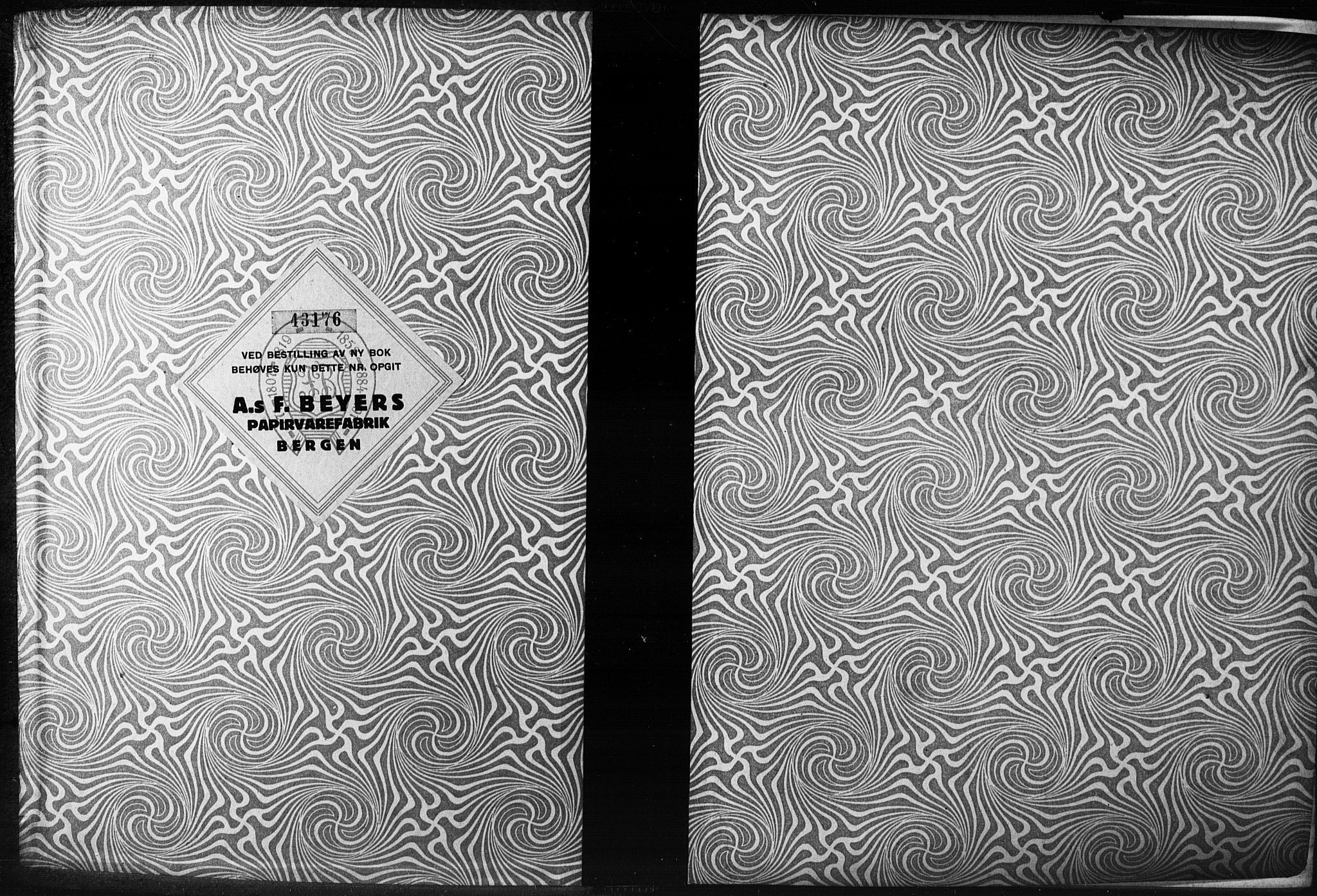 SAB, Domkirken Sokneprestembete, Forlovererklæringer nr. II.5.14, 1922-1927