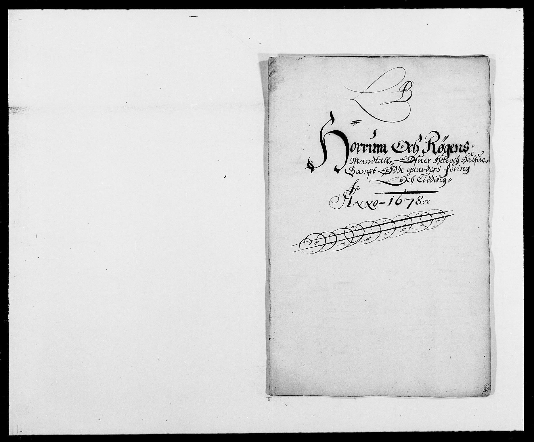 RA, Rentekammeret inntil 1814, Reviderte regnskaper, Fogderegnskap, R29/L1691: Fogderegnskap Hurum og Røyken, 1678-1681, s. 46