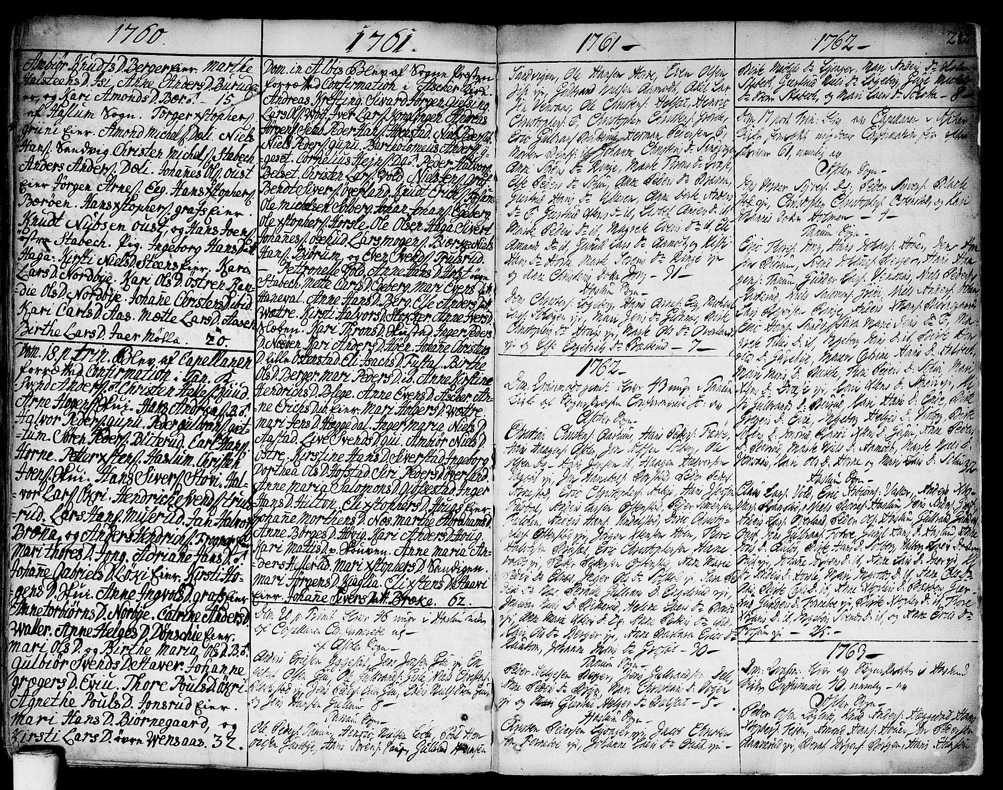SAO, Asker prestekontor Kirkebøker, F/Fa/L0002: Ministerialbok nr. I 2, 1733-1766, s. 282