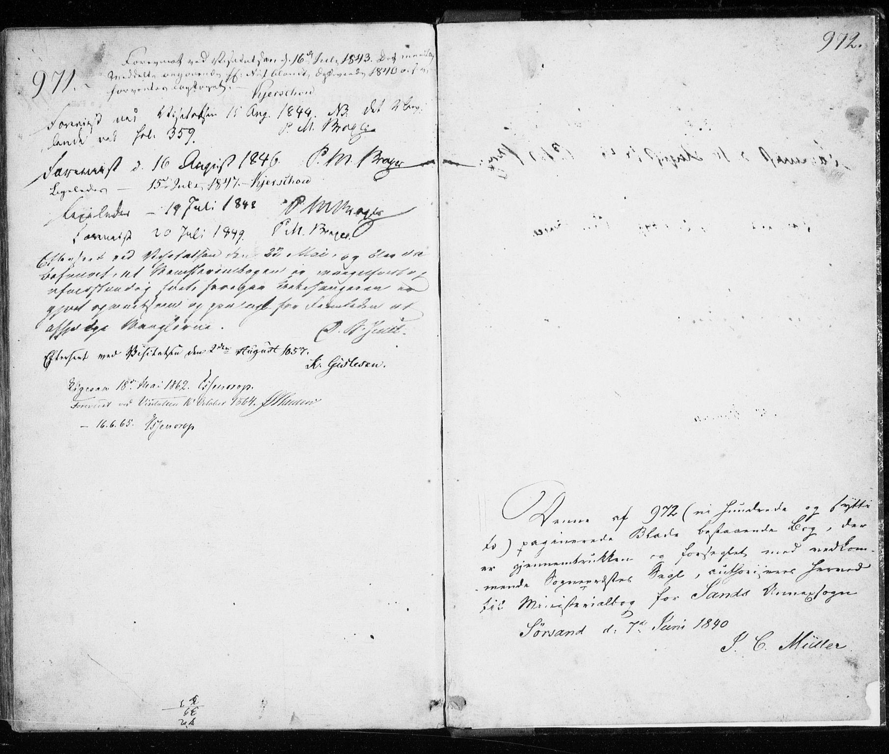 SATØ, Trondenes sokneprestkontor, H/Ha/L0010kirke: Ministerialbok nr. 10, 1840-1865, s. 971-972