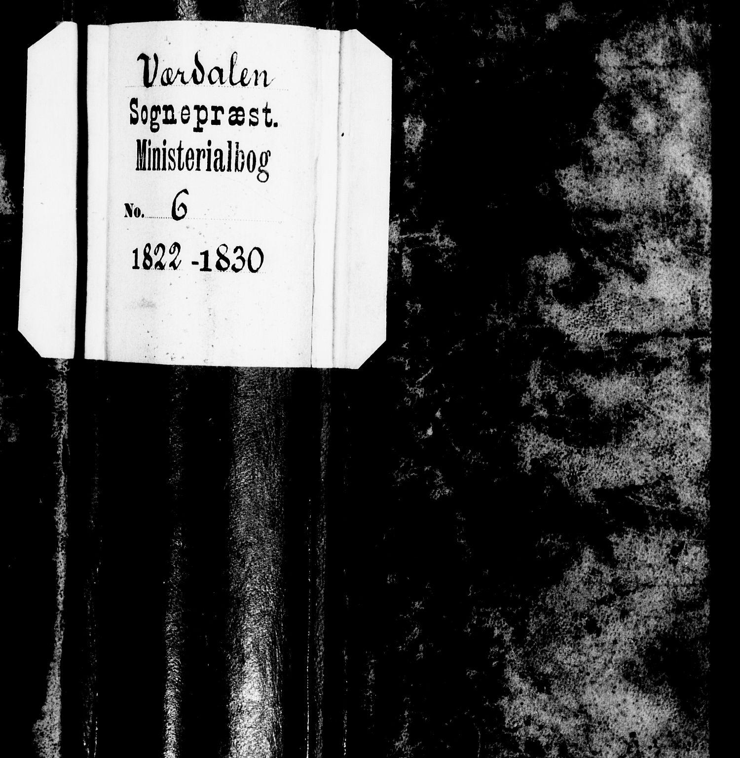 SAT, Ministerialprotokoller, klokkerbøker og fødselsregistre - Nord-Trøndelag, 723/L0237: Ministerialbok nr. 723A06, 1822-1830