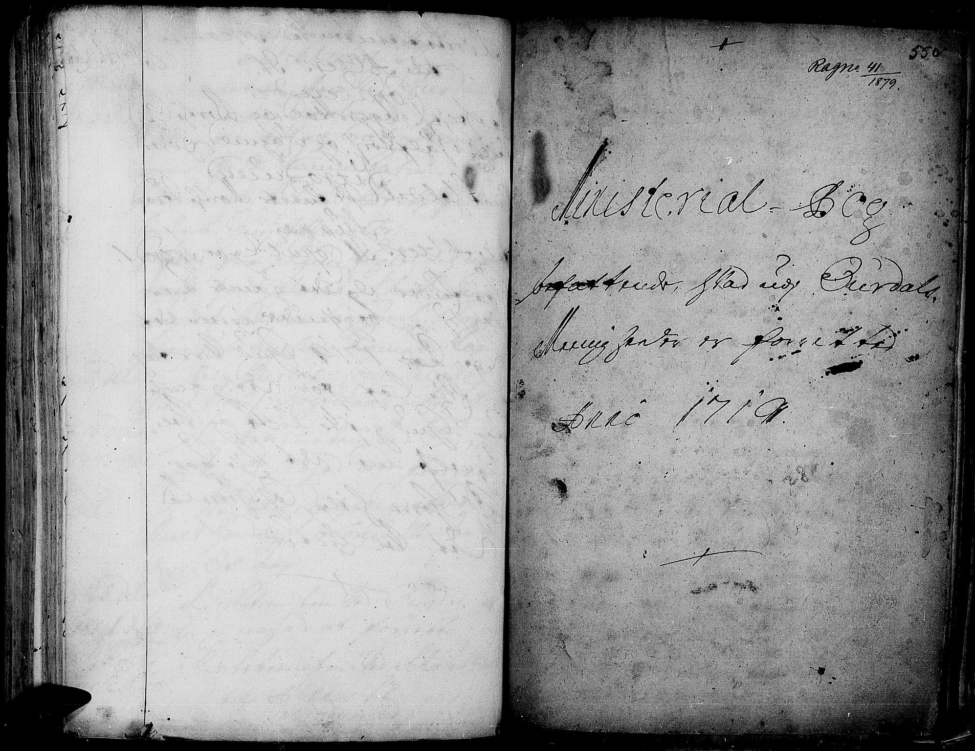 SAH, Aurdal prestekontor, Ministerialbok nr. 1-3, 1692-1730, s. 550