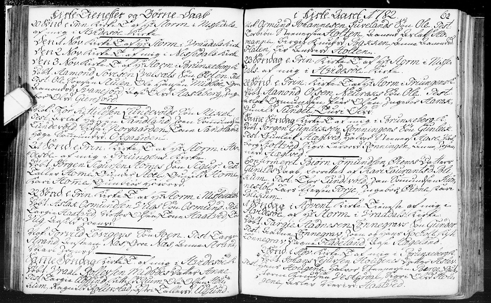 SAKO, Kviteseid kirkebøker, F/Fa/L0002: Ministerialbok nr. I 2, 1773-1786, s. 62