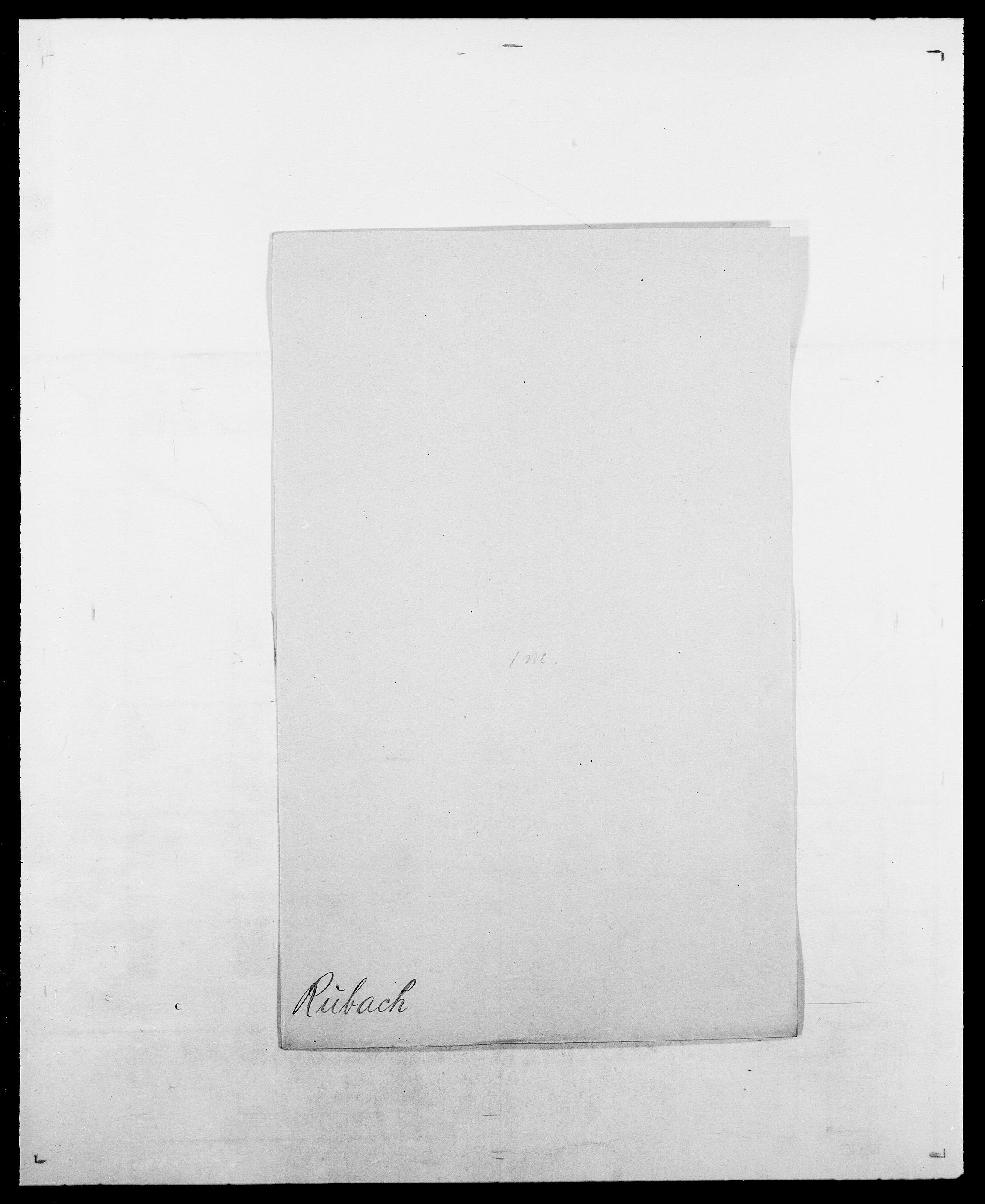 SAO, Delgobe, Charles Antoine - samling, D/Da/L0033: Roald - Røyem, s. 414