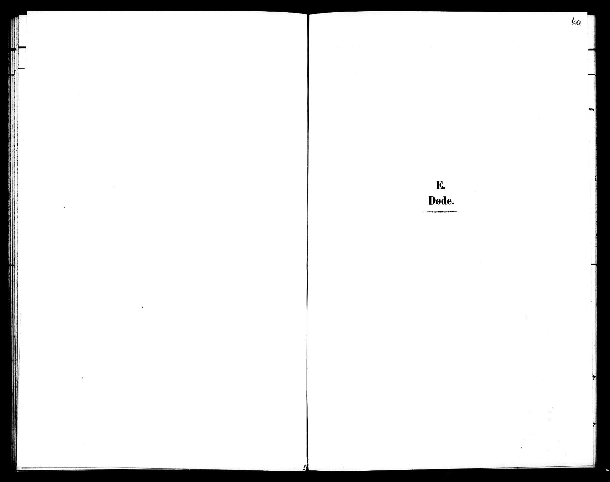SAT, Ministerialprotokoller, klokkerbøker og fødselsregistre - Sør-Trøndelag, 602/L0144: Klokkerbok nr. 602C12, 1897-1905, s. 40