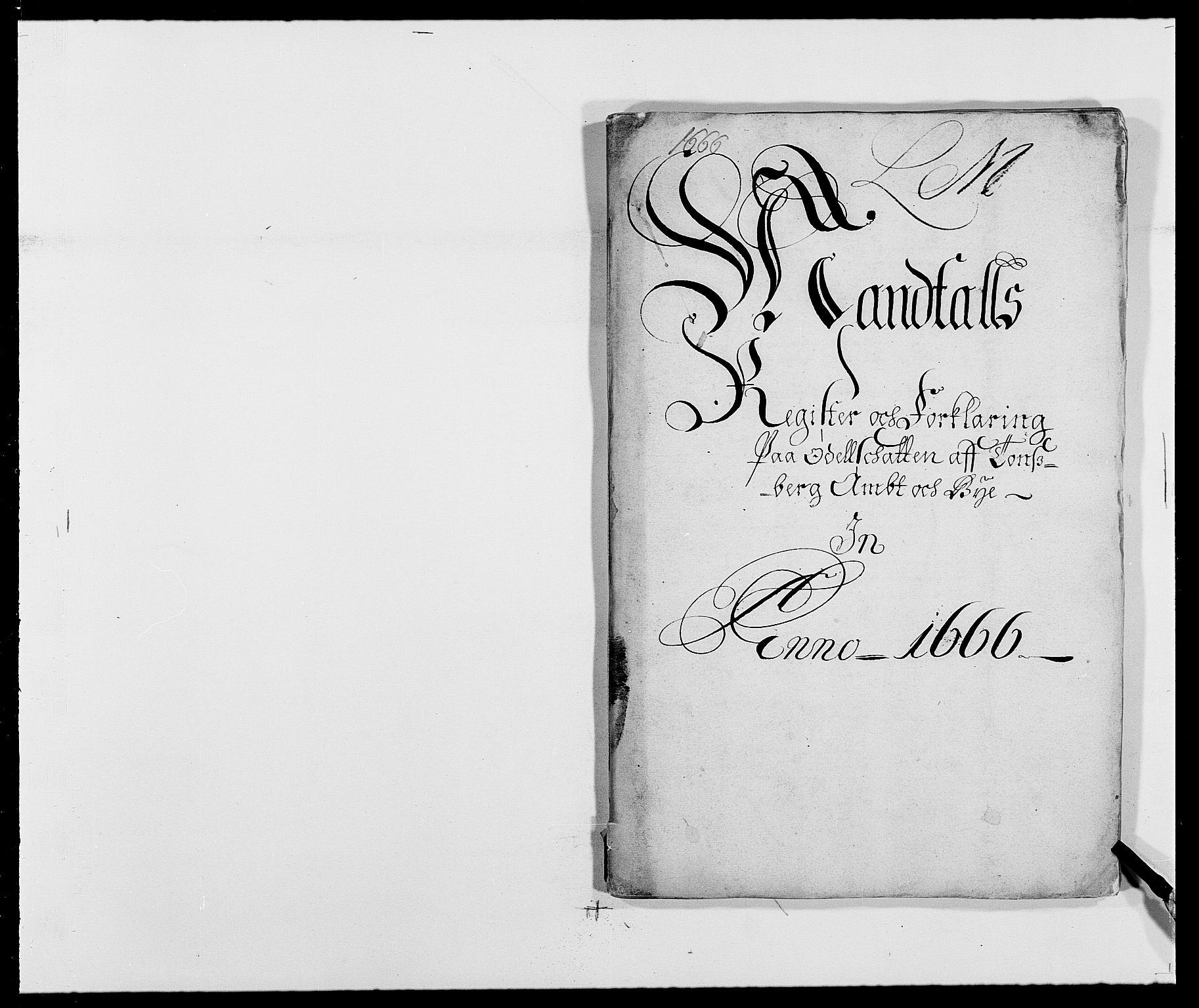 RA, Rentekammeret inntil 1814, Reviderte regnskaper, Fogderegnskap, R32/L1840: Fogderegnskap Jarlsberg grevskap, 1664-1673, s. 1