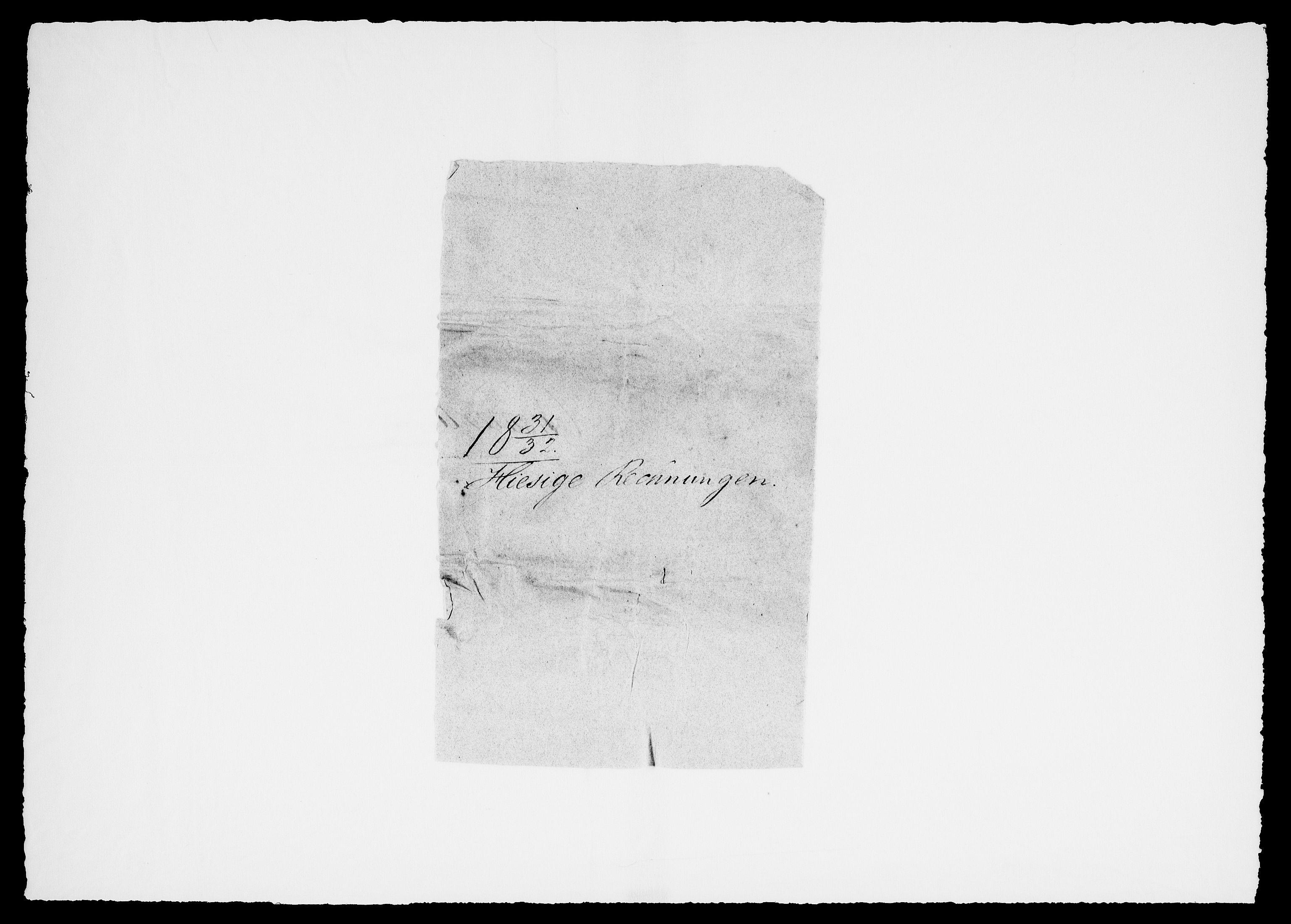 RA, Modums Blaafarveværk, G/Gd/Gdc/L0217, 1831-1834, s. 2