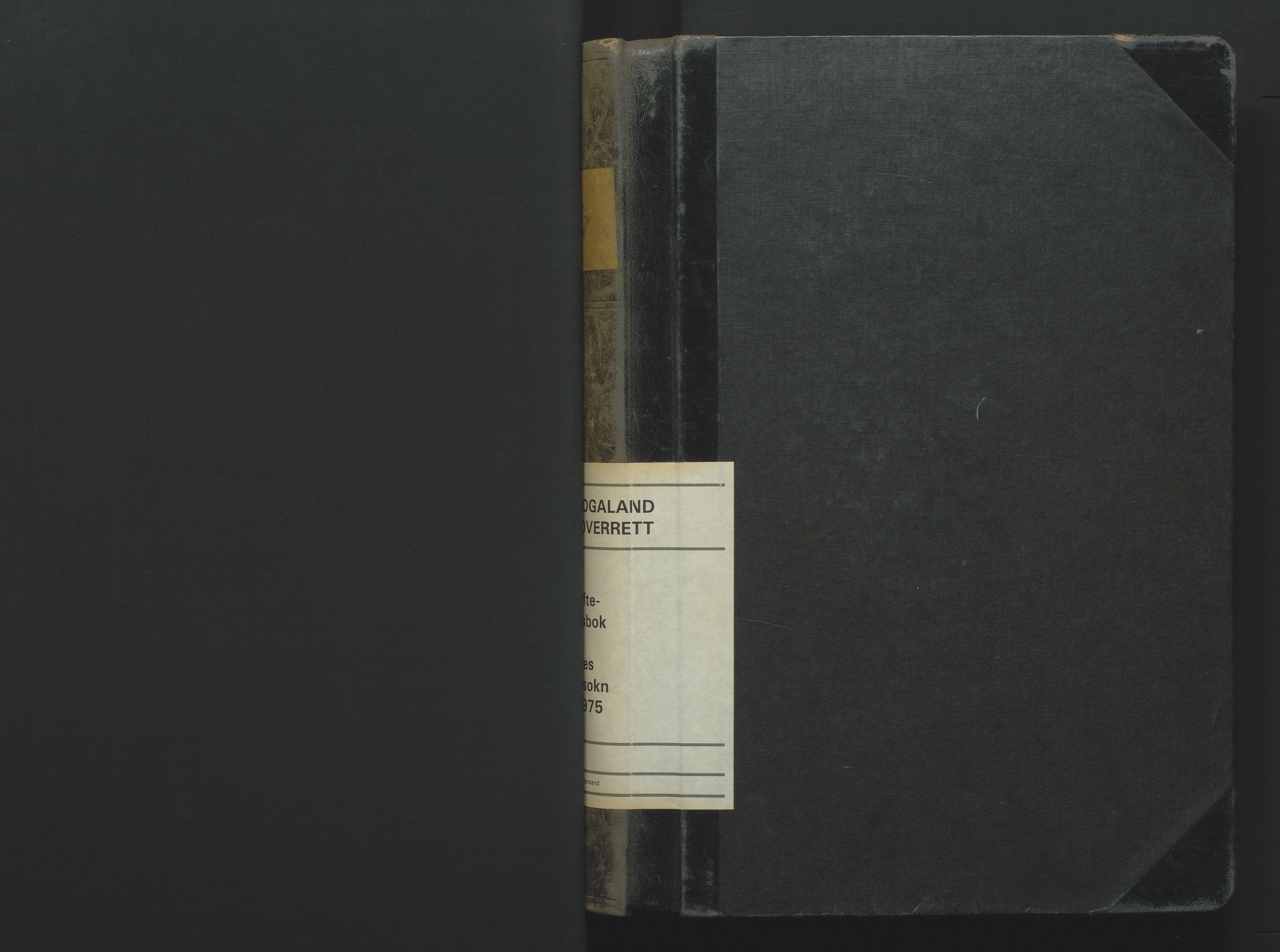 SAK, Jordskifteoverdommeren i Agder og Rogaland, F/Fa/Fab/L0001: Jordskifteoverrettsbok Nedenes jordskiftesokn nr 1, 1952-1975
