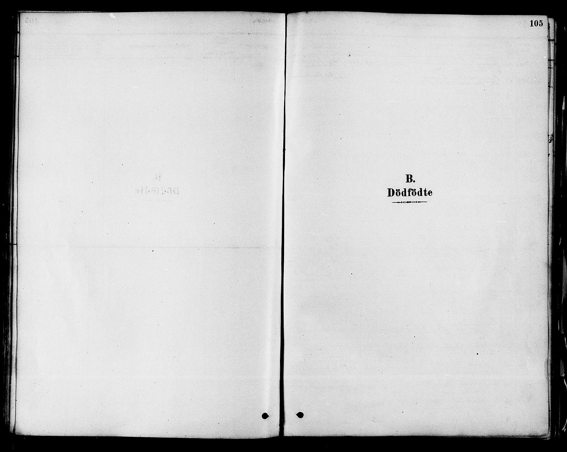 SAKO, Modum kirkebøker, F/Fa/L0011: Ministerialbok nr. 11, 1877-1889, s. 105