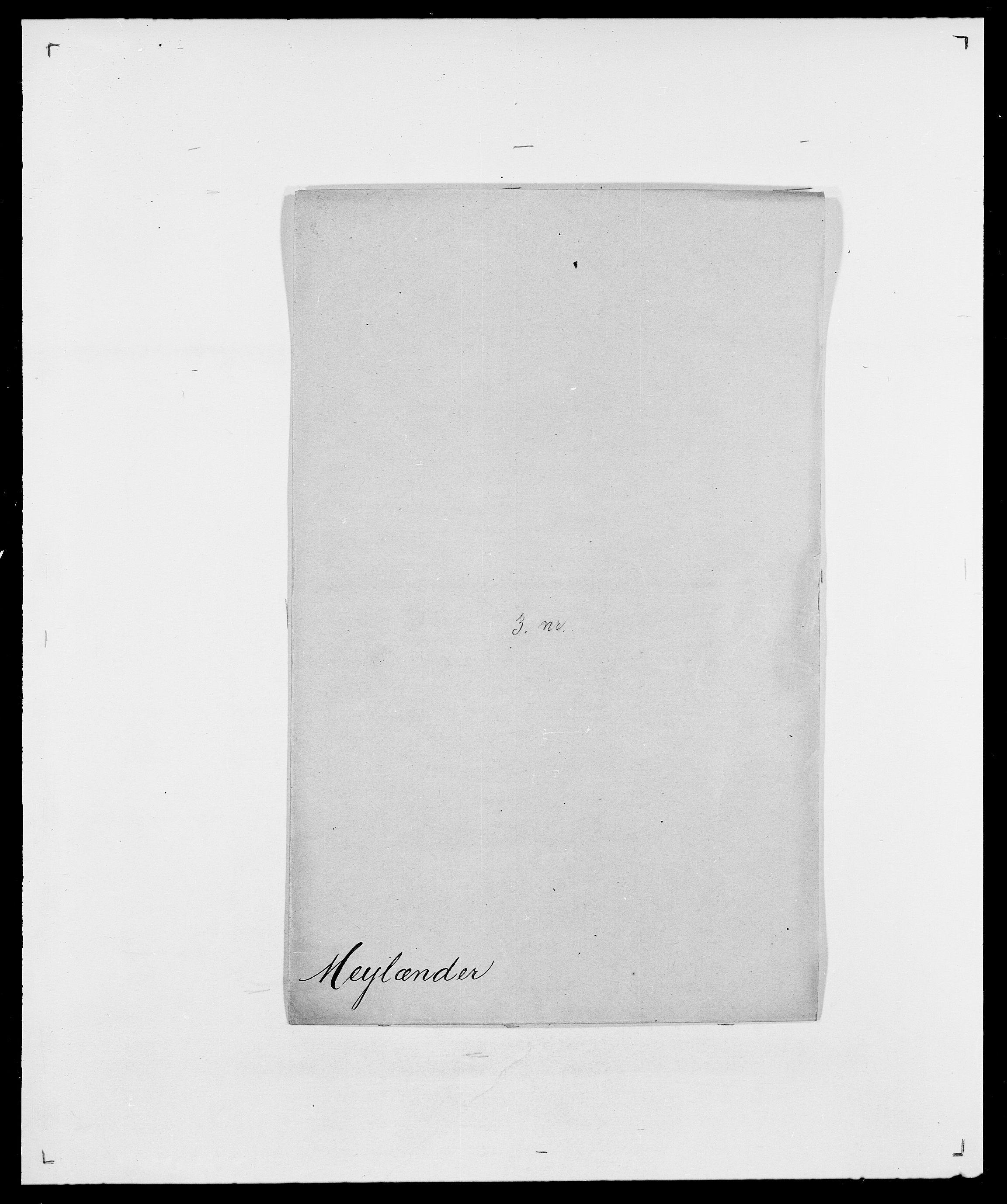 SAO, Delgobe, Charles Antoine - samling, D/Da/L0026: Mechelby - Montoppidan, s. 494