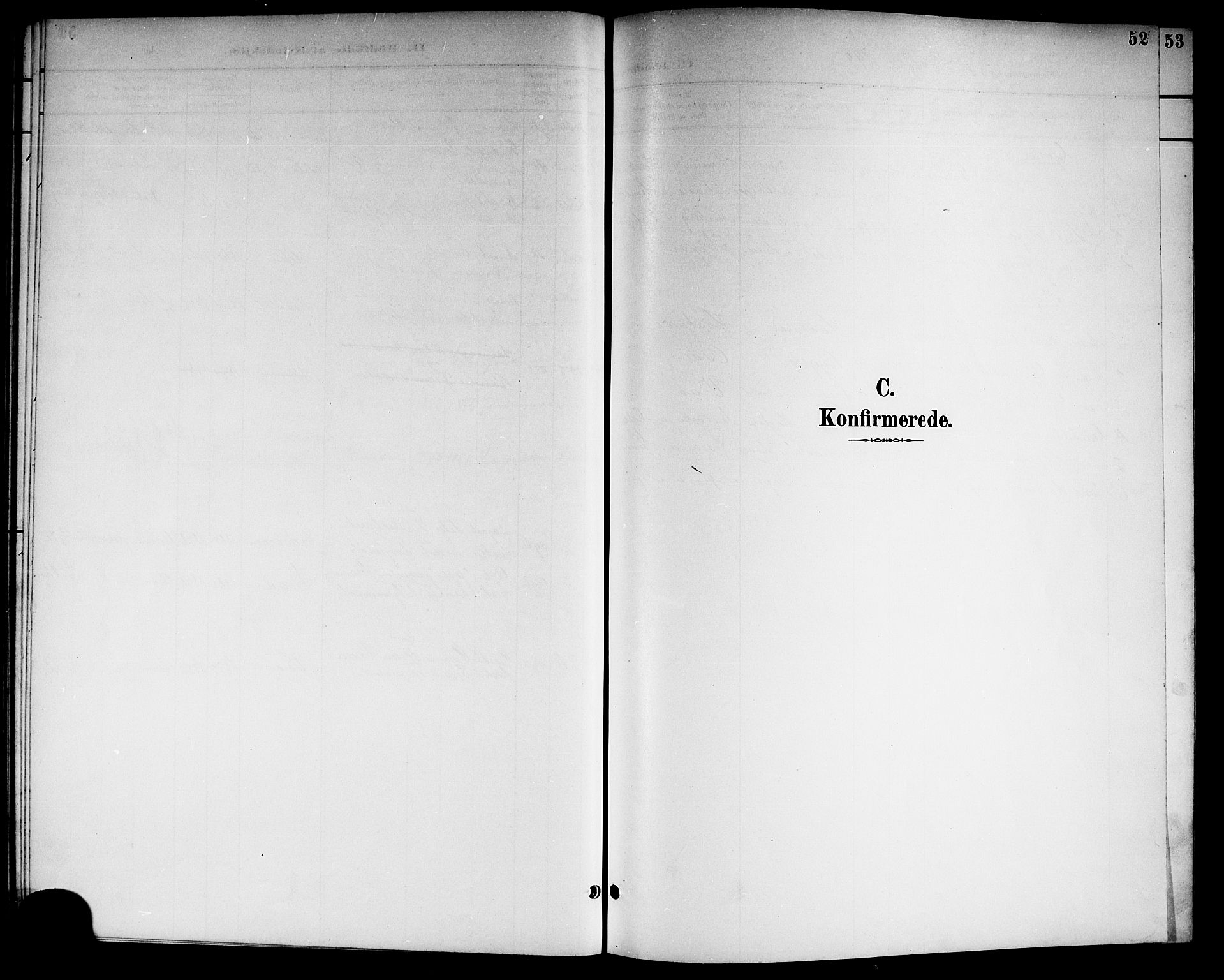 SAKO, Kviteseid kirkebøker, G/Gc/L0001: Klokkerbok nr. III 1, 1893-1916, s. 52