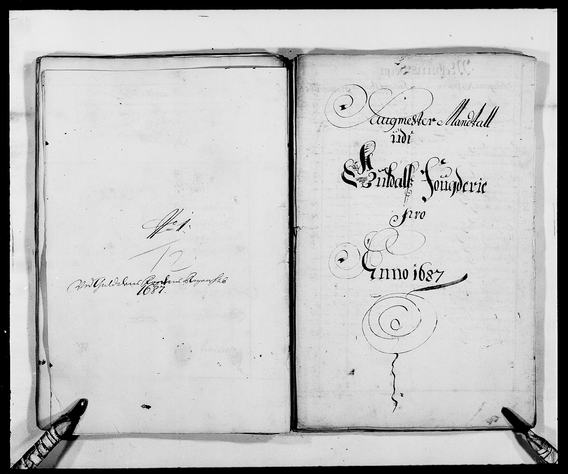RA, Rentekammeret inntil 1814, Reviderte regnskaper, Fogderegnskap, R59/L3939: Fogderegnskap Gauldal, 1687-1688, s. 54