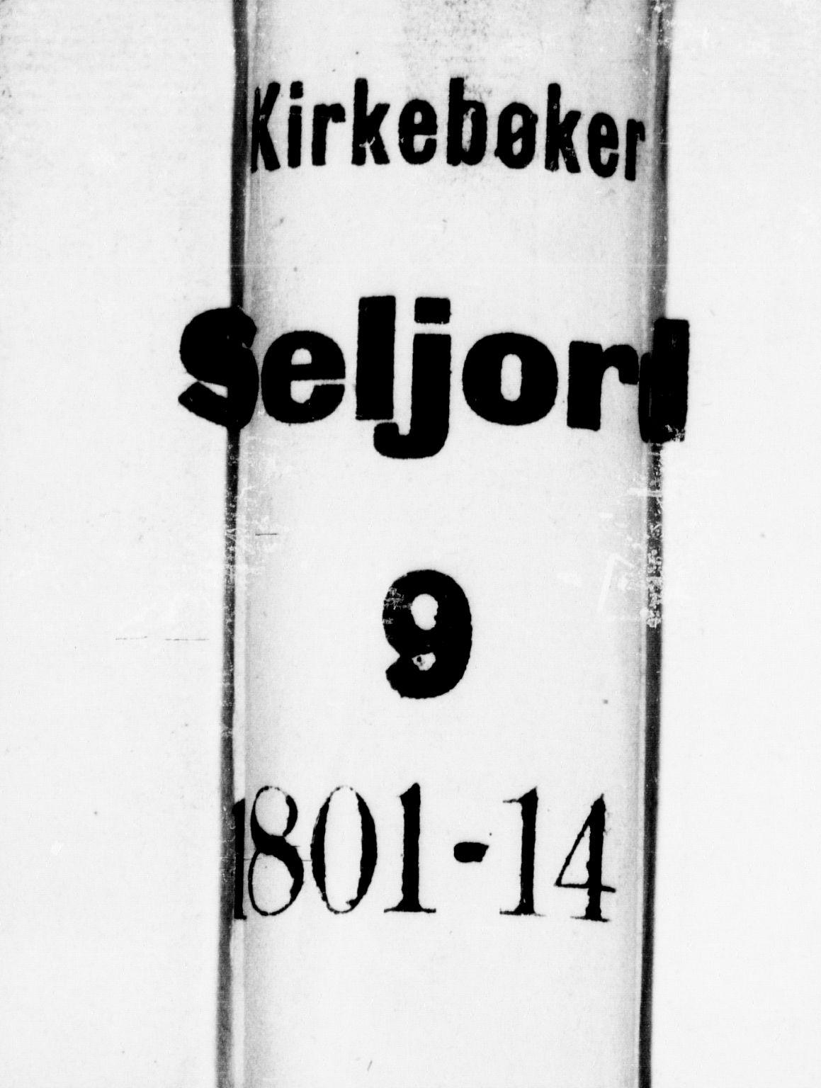 SAKO, Seljord kirkebøker, F/Fa/L0009: Ministerialbok nr. I 9, 1801-1814